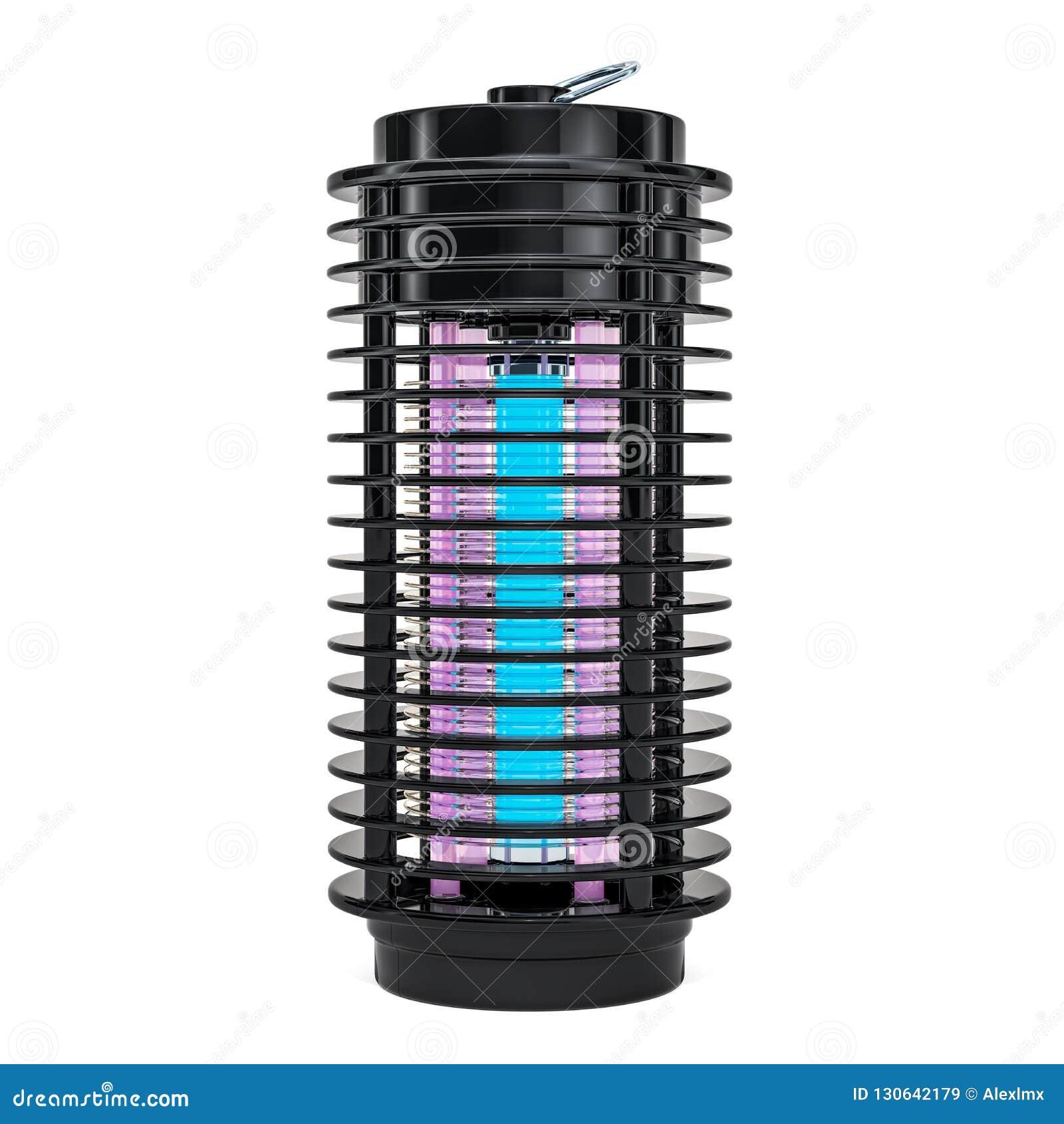 Mördare för kryp för lampmygga elektrisk, lykta framförande 3d