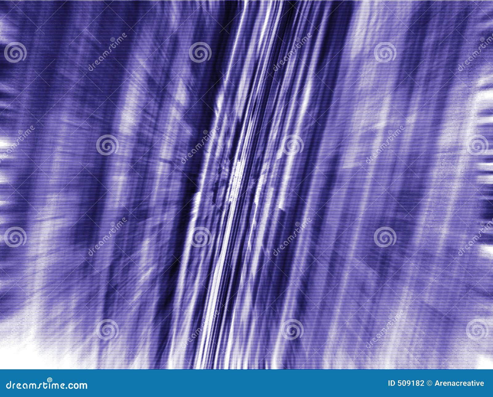 Mörk matriszoom för blå blur 3d