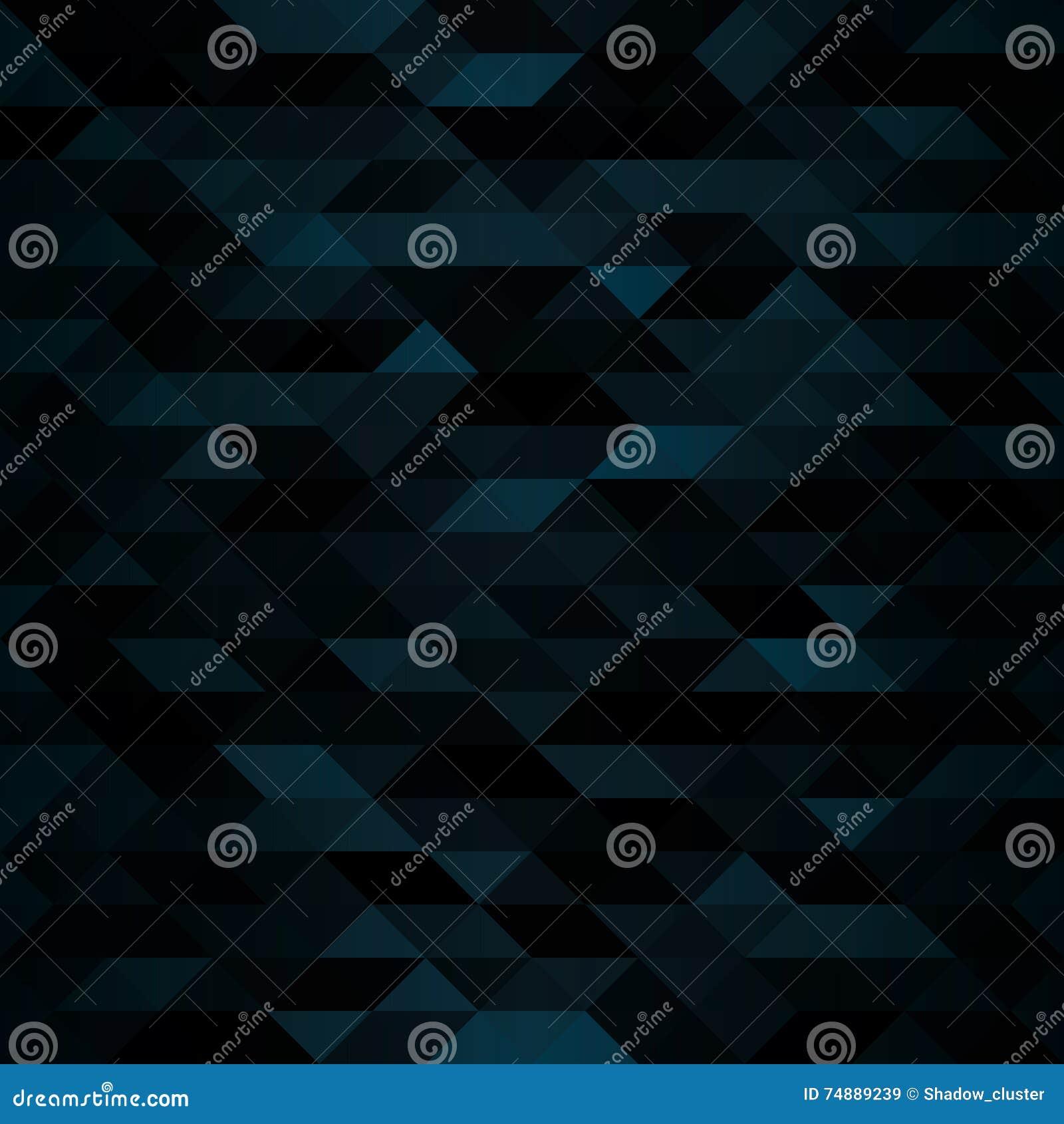 Mörk triangulär mosaisk bakgrund