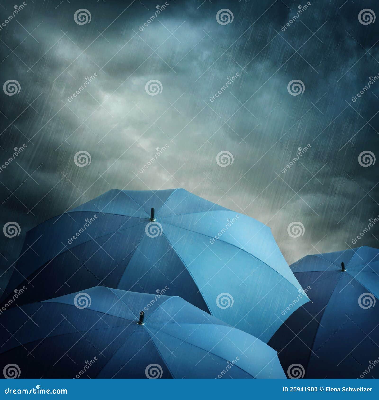 Mörka oklarheter och paraplyer