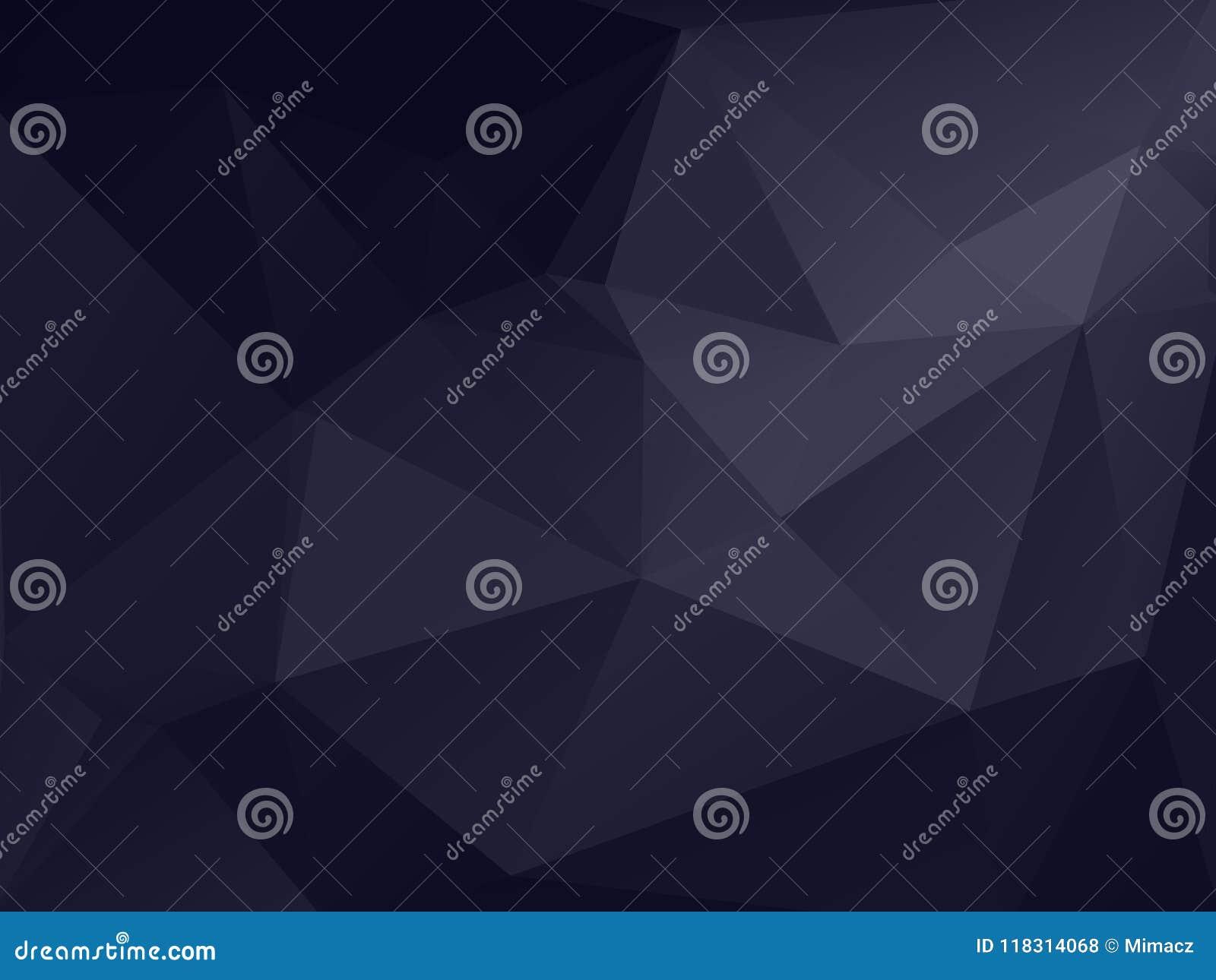 Mörker - grå polygonal texturbakgrund