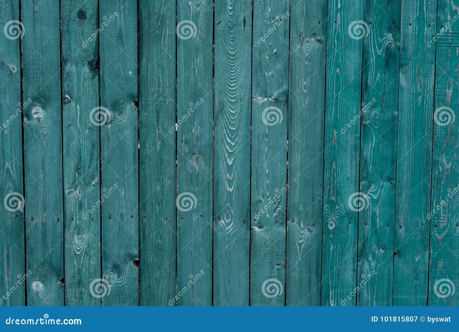 Mörker - gröna gamla träbräden Bakgrunder och målat texturstaket Bekläda beskådar Tilldra härlig tappningbakgrund