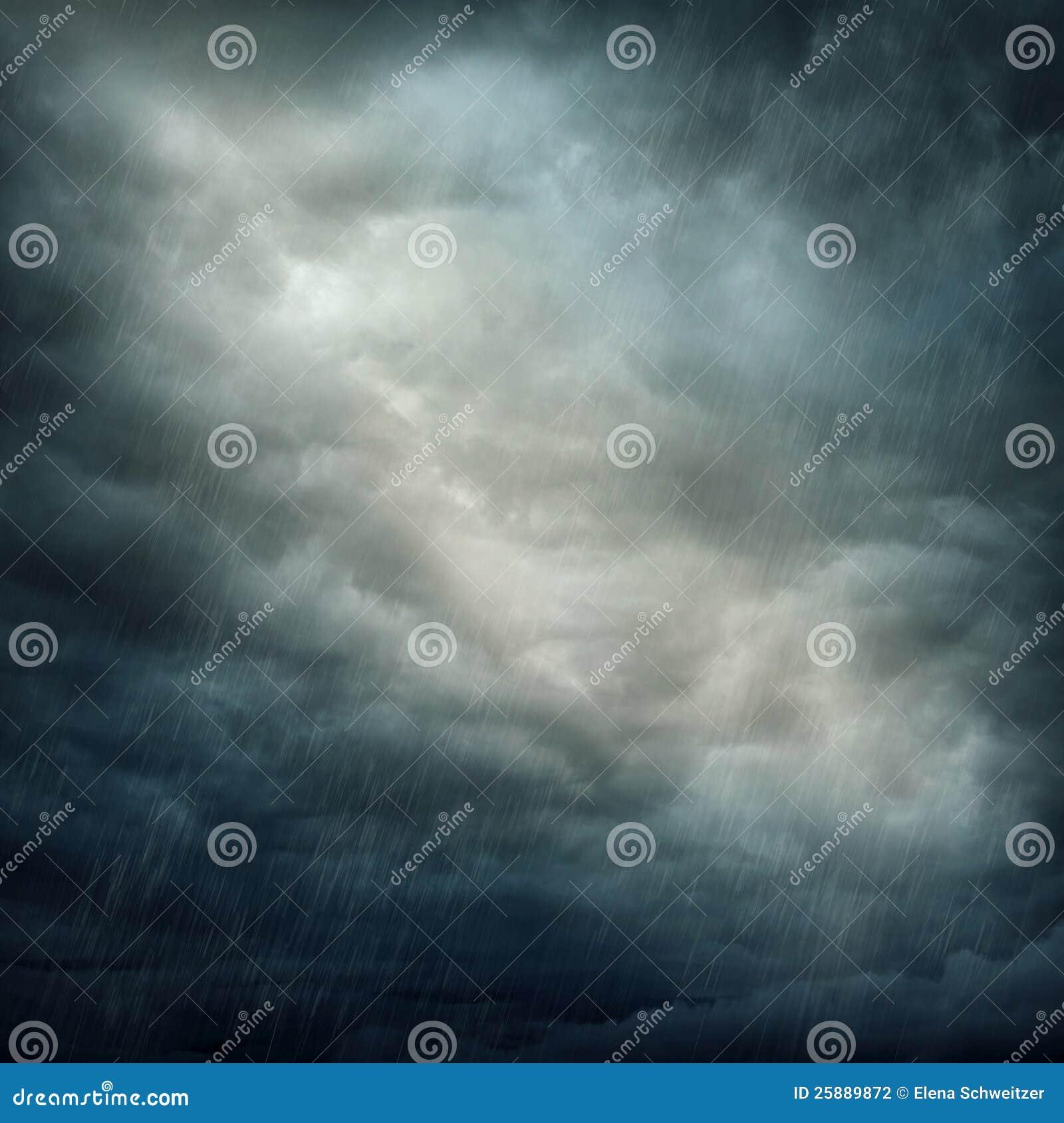 Mörkt oklarheter och regn
