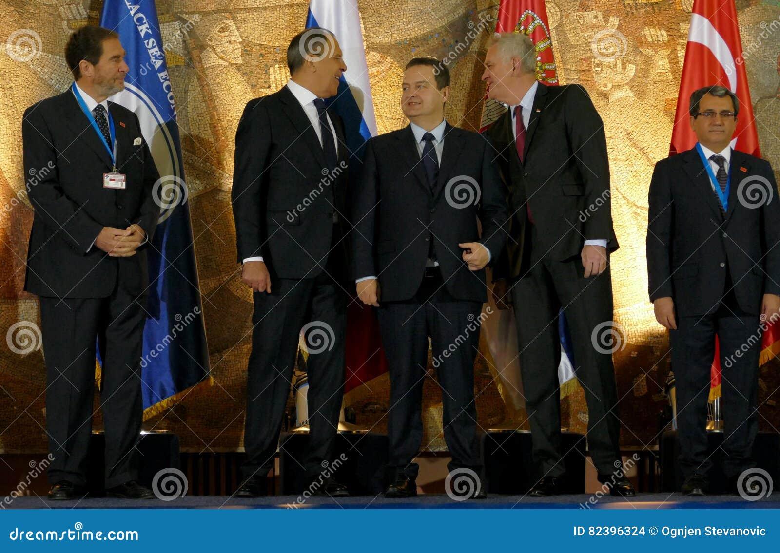 Möte av rådet av ministrar av utländskt - angelägenheter av organisationen av medlemsstaterna Black Sea för ekonomiskt samarbete