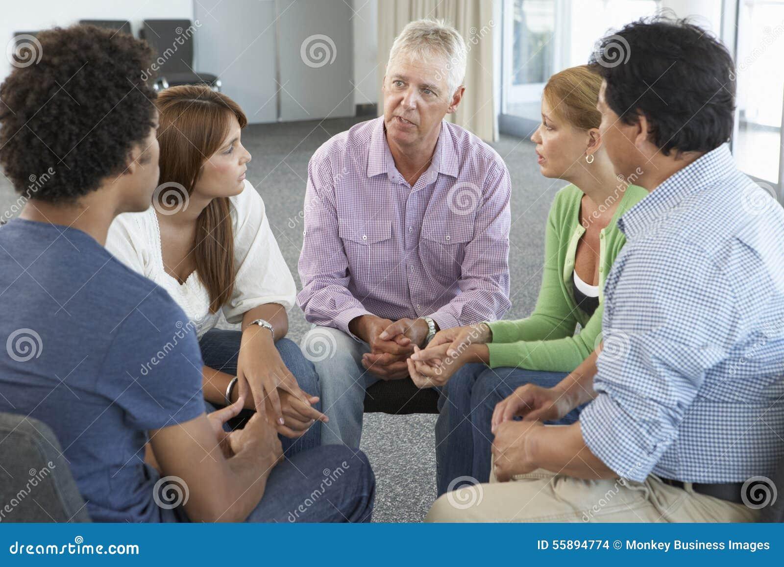 Möte av stödgruppen