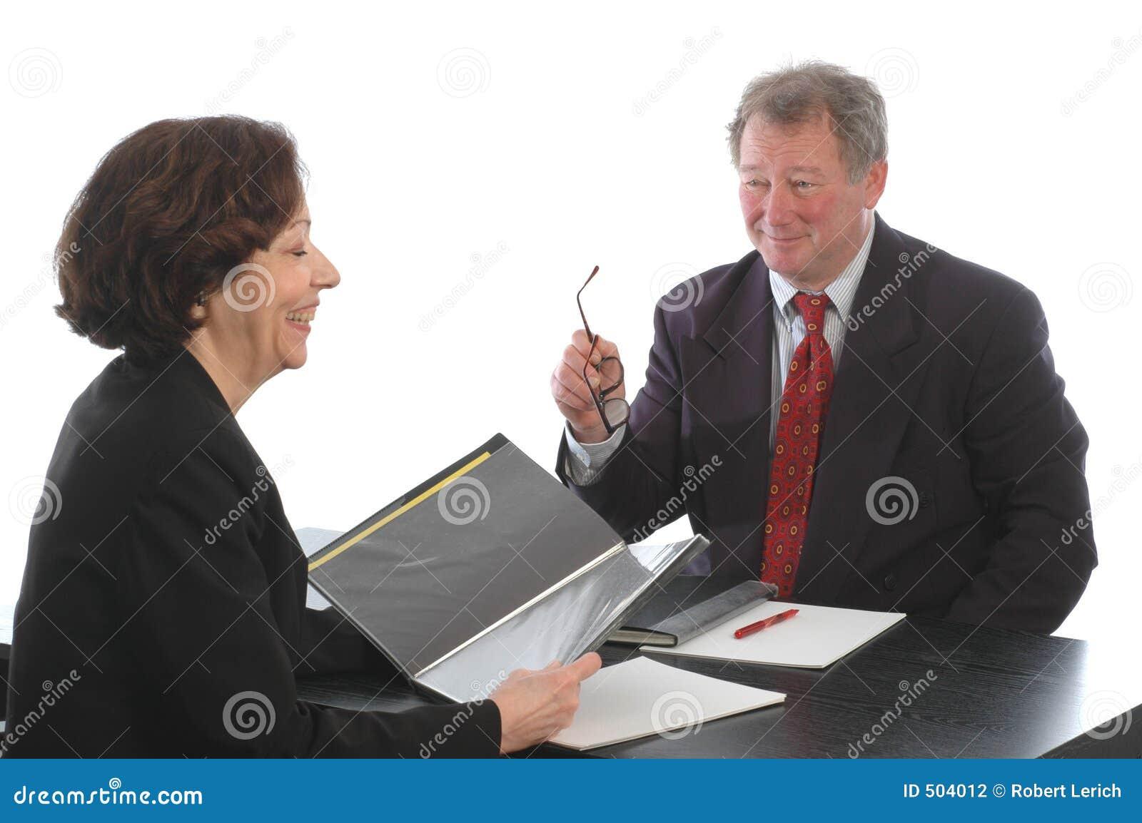 Möte för affärsledare