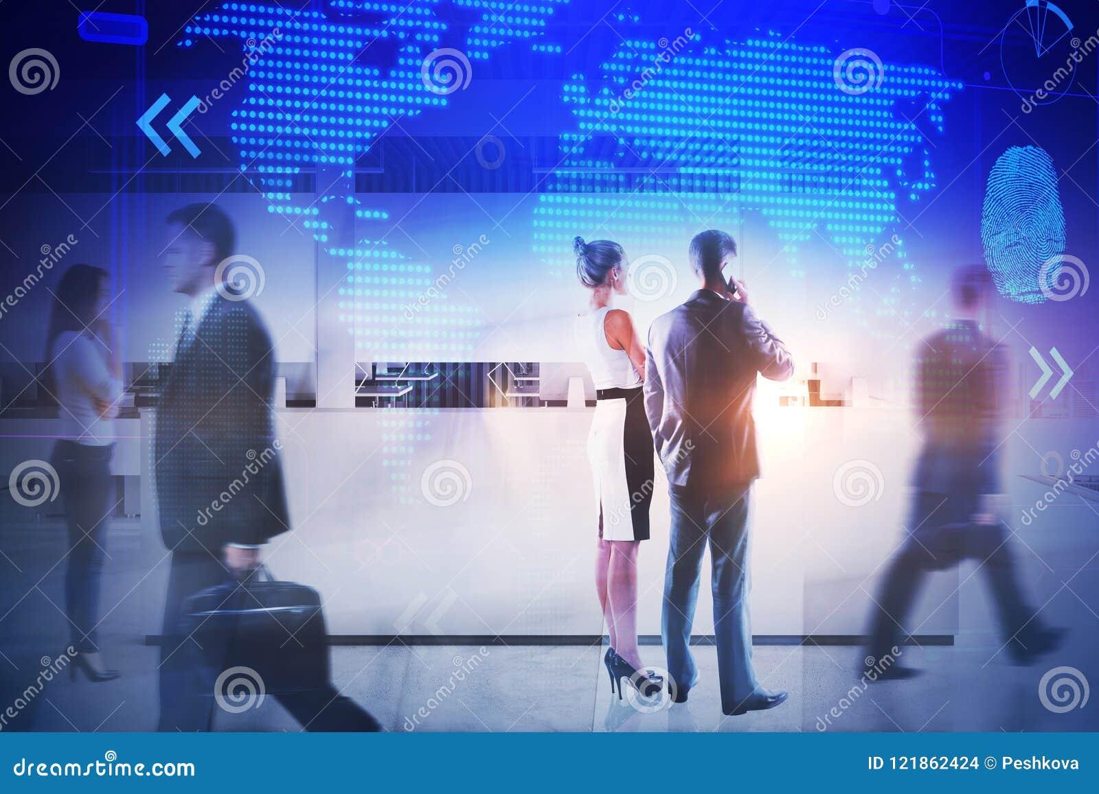 Möte och företags begrepp