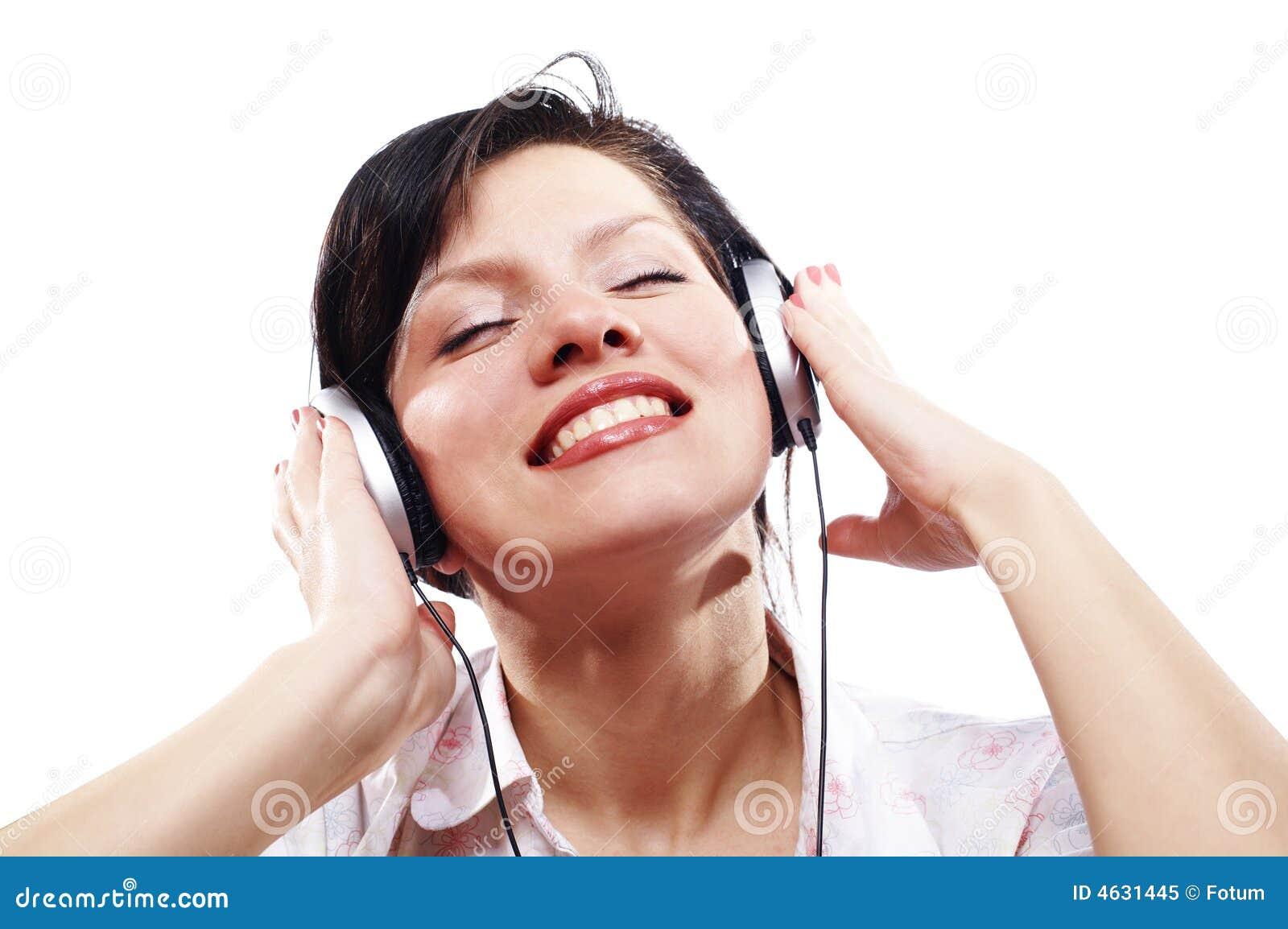 Música de escuta das mulheres bonitas