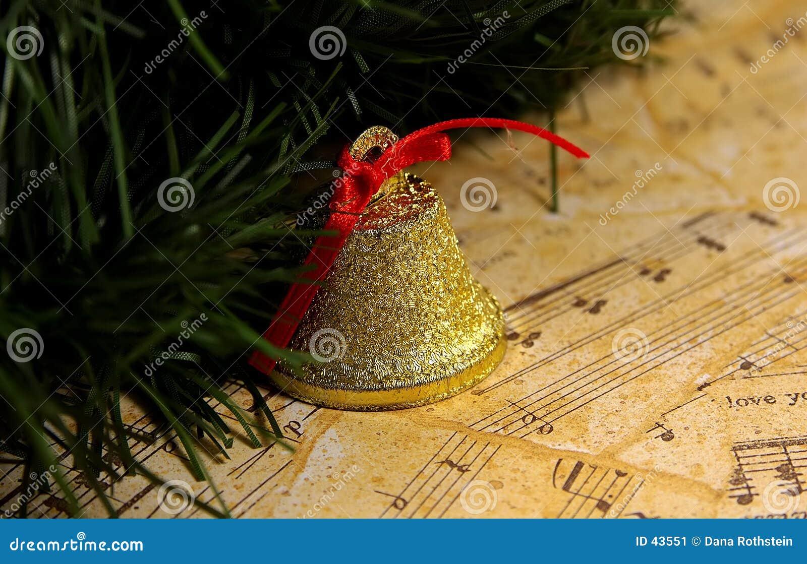 Download Música de la Navidad imagen de archivo. Imagen de notas - 43551