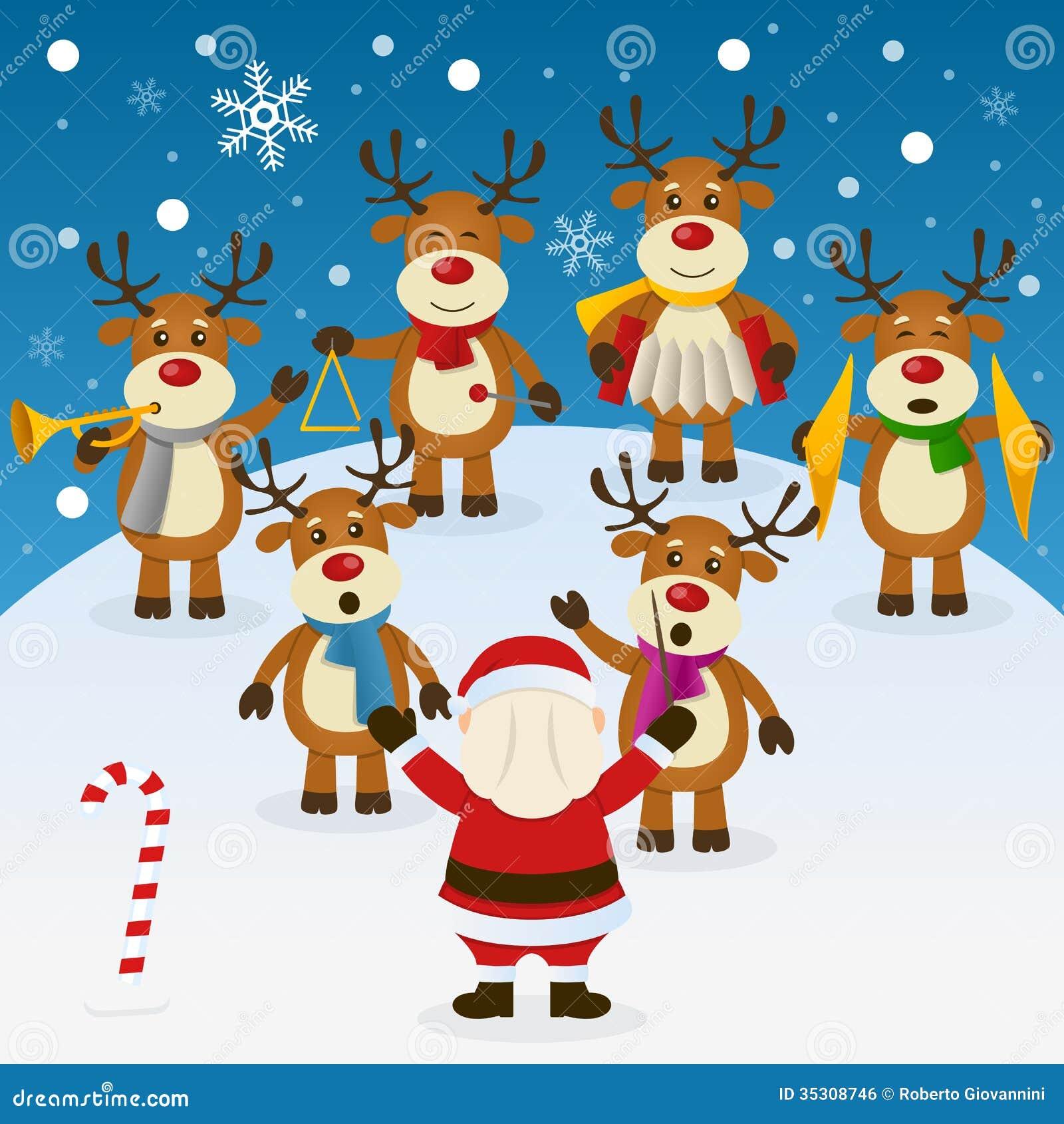 Música de natal do Natal com orquestra