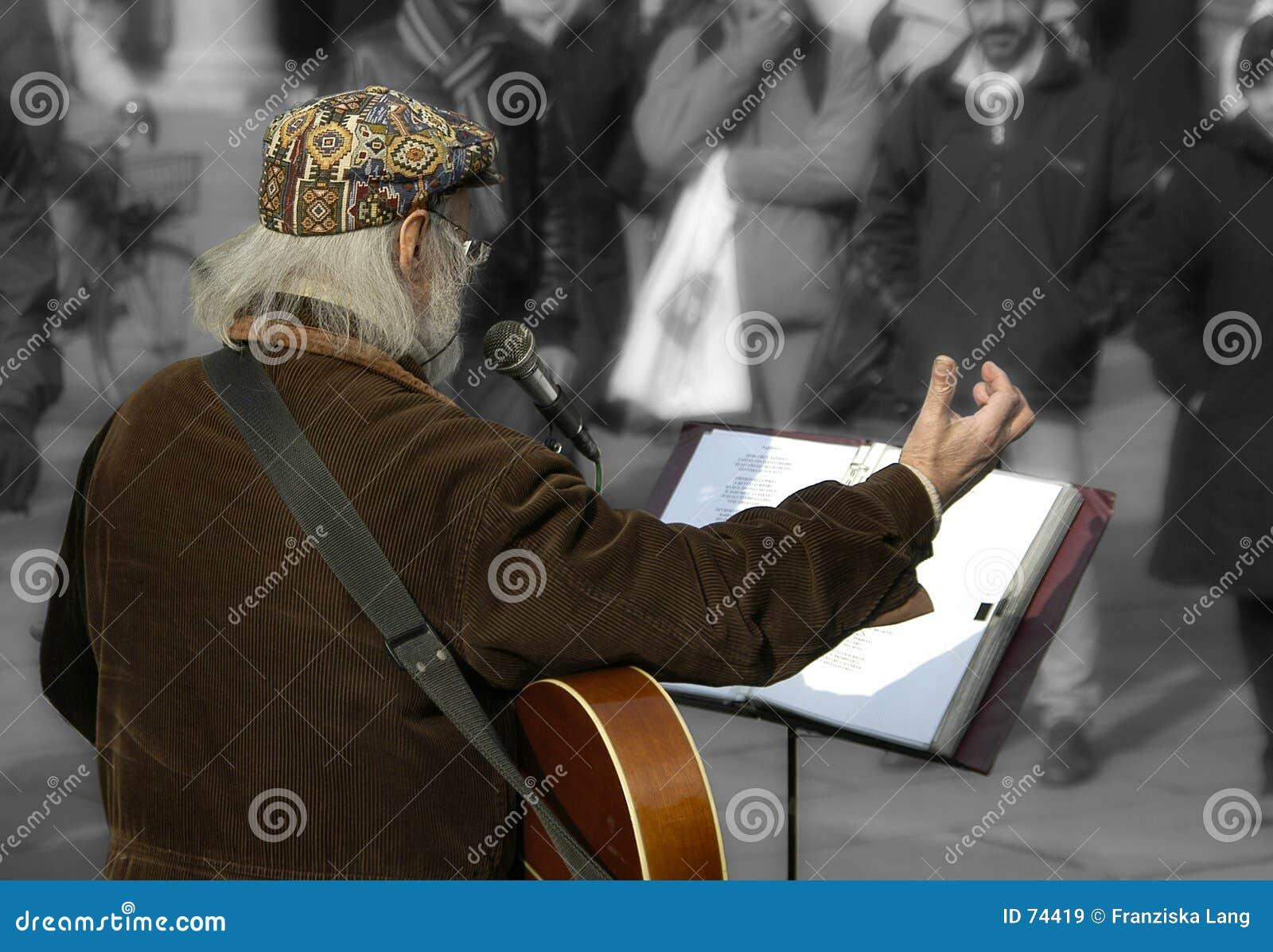 Músico de la calle