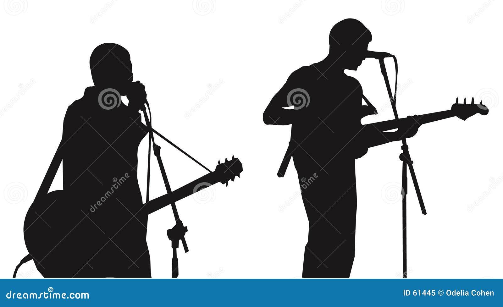 Músico-silhuetas