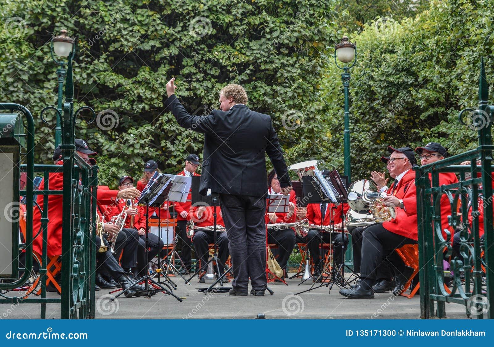 Músicos de Sydney Symphony Orchestra