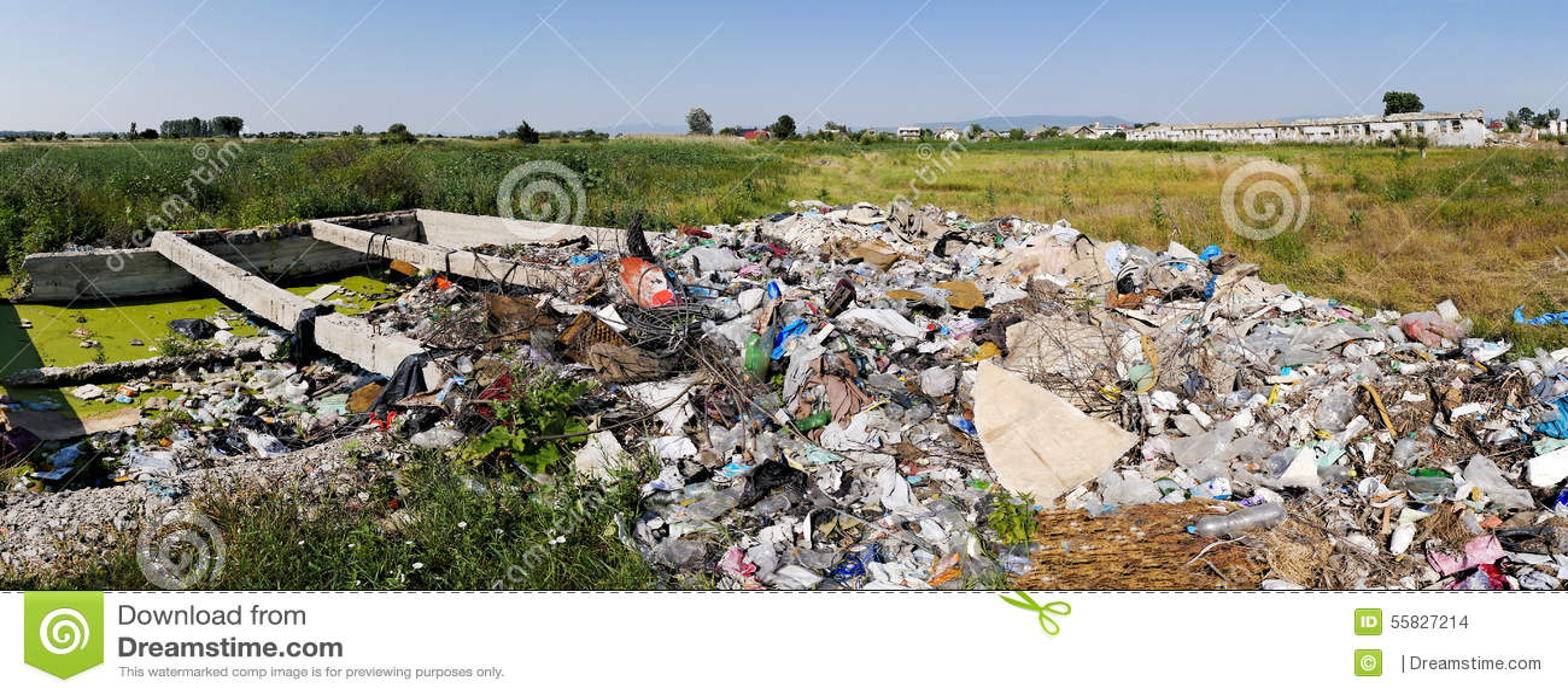 Müllgrubenabfall
