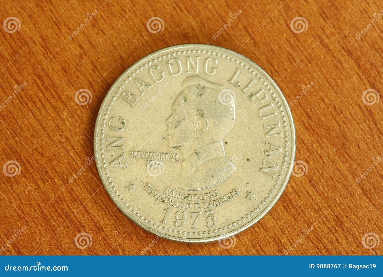 Münze Weinlese-seltene Ferdinand-Marcos
