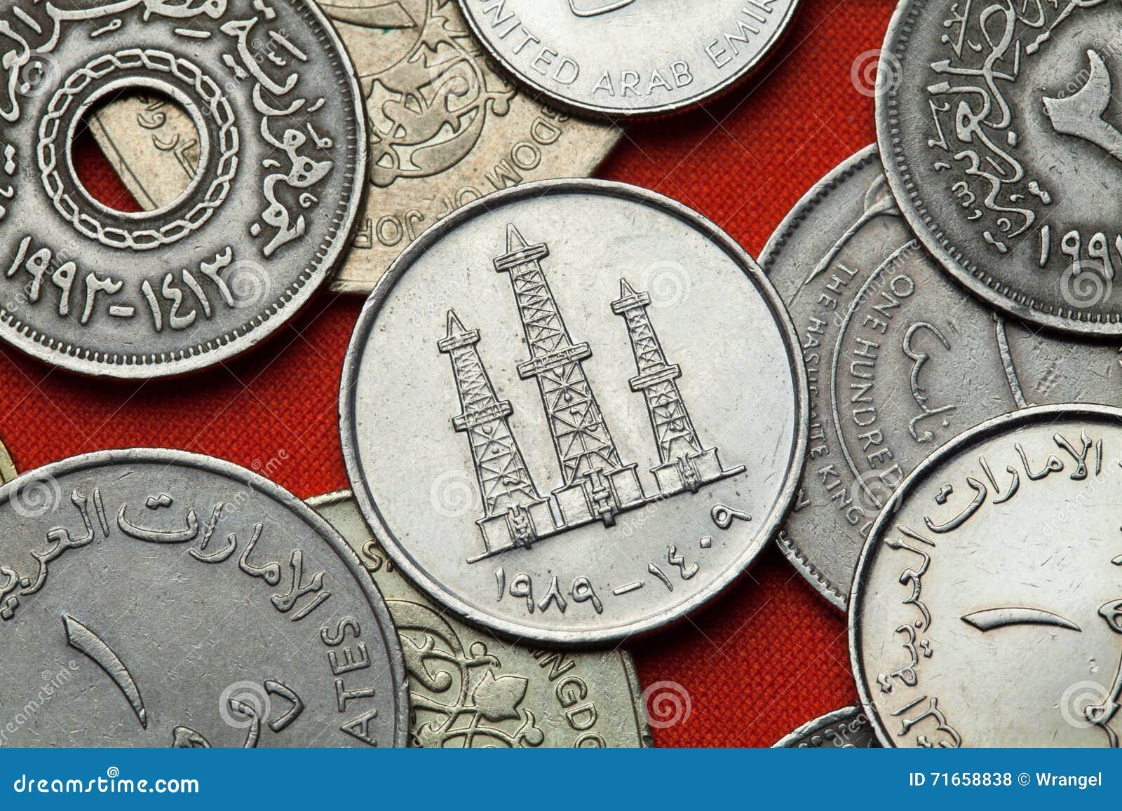 Münzen Vereinigte Arabische Emirates Erdölbohrtürme