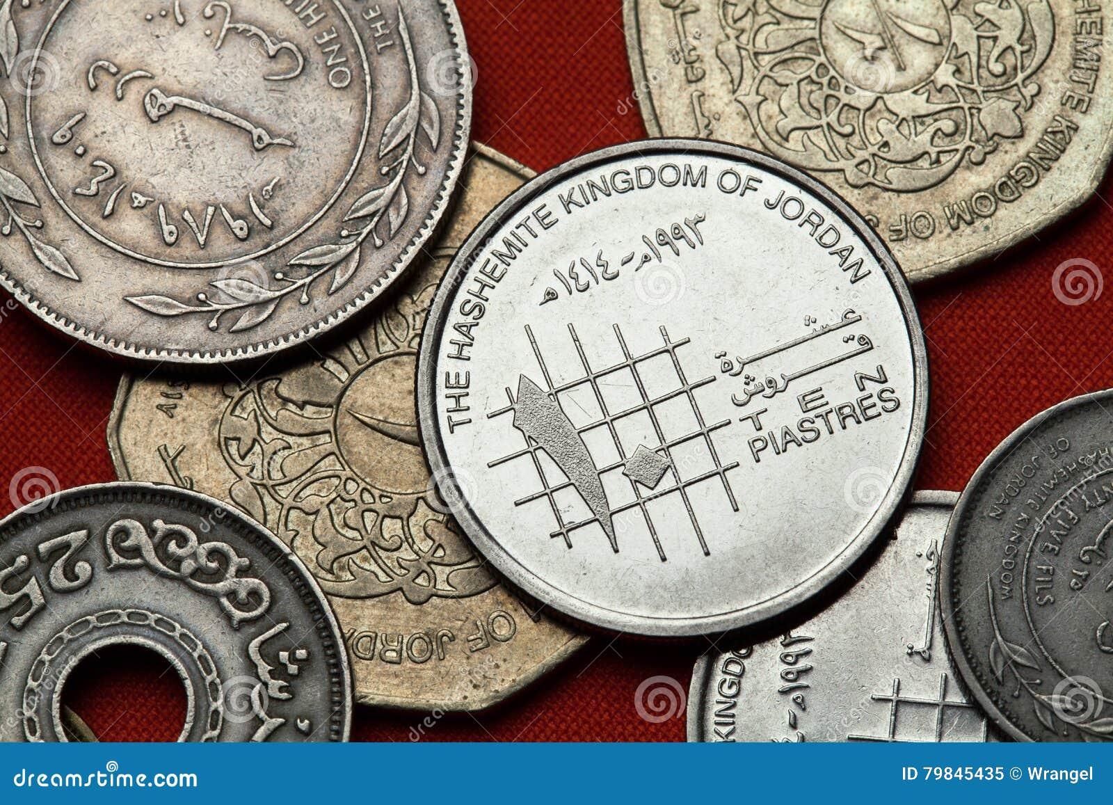 Münzen von Jordanien