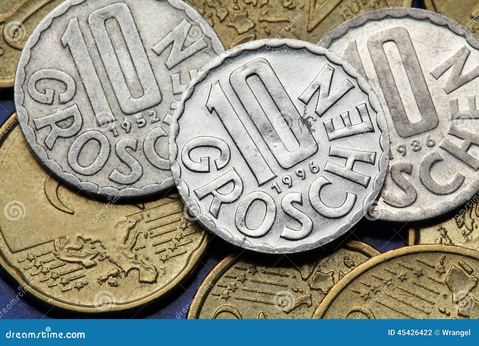 Münzen Von Kroatien Stockfoto Bild Von Viele Ansammlung 45426422