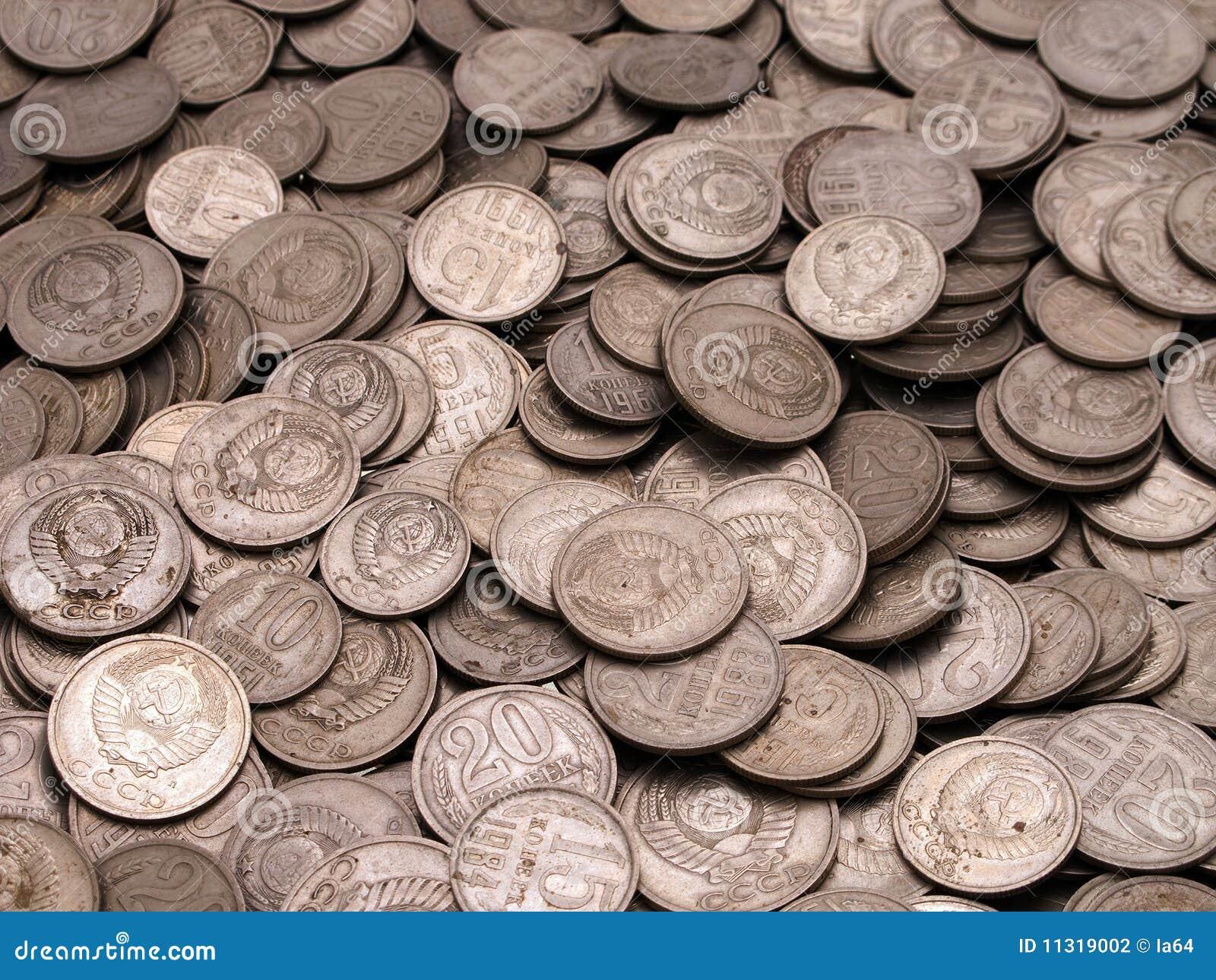 Münzenhintergründe