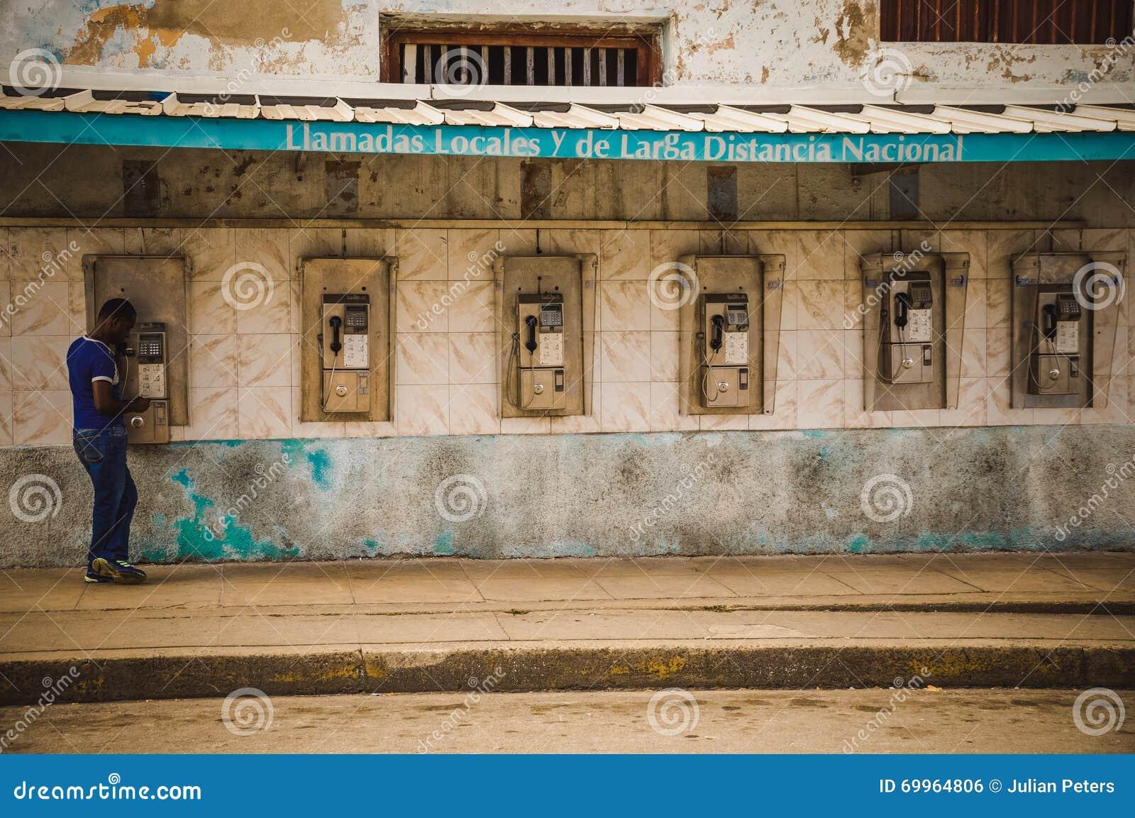 Münztelefone in Kuba