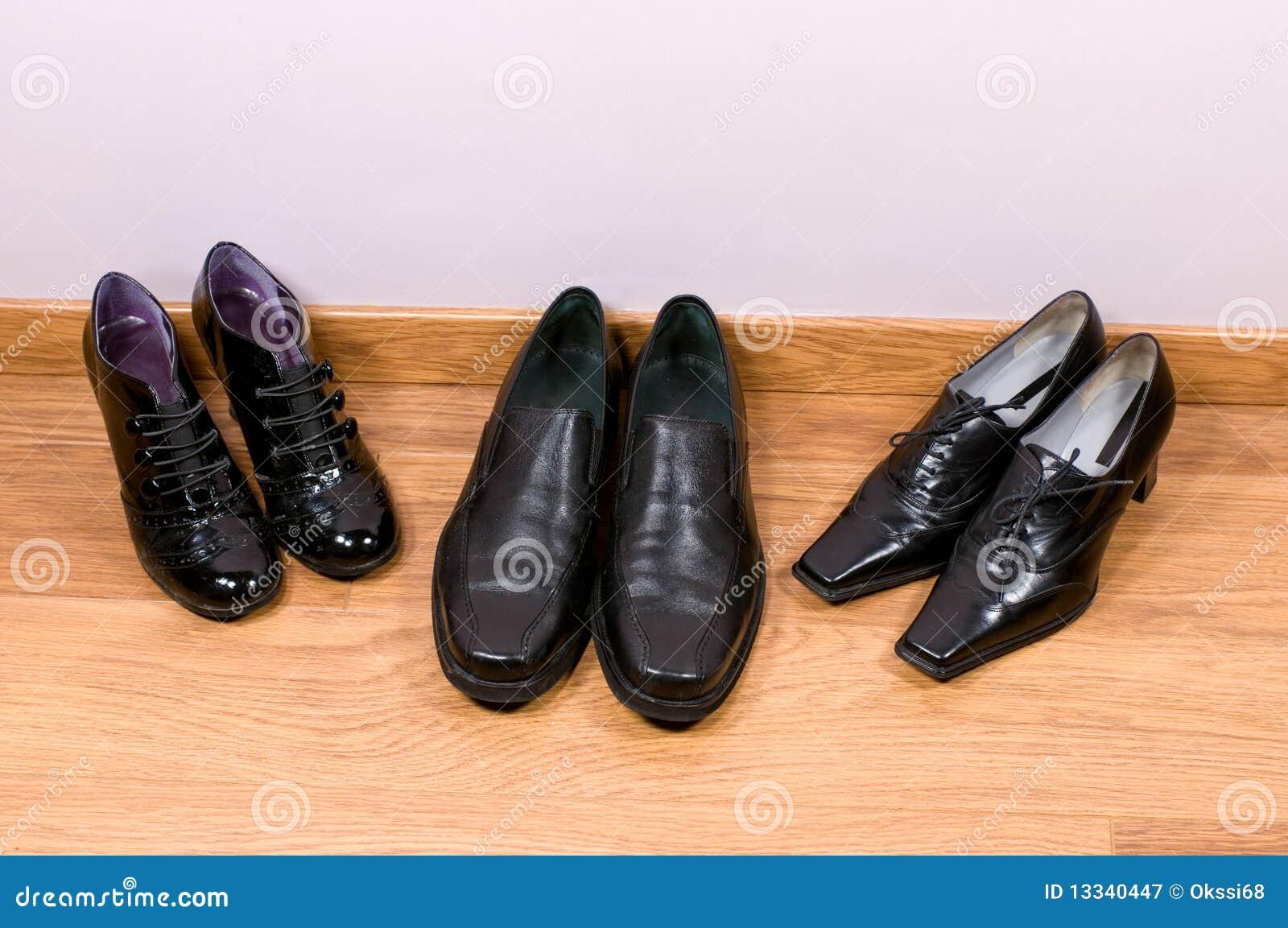 Mężczyzna żeńscy buty s