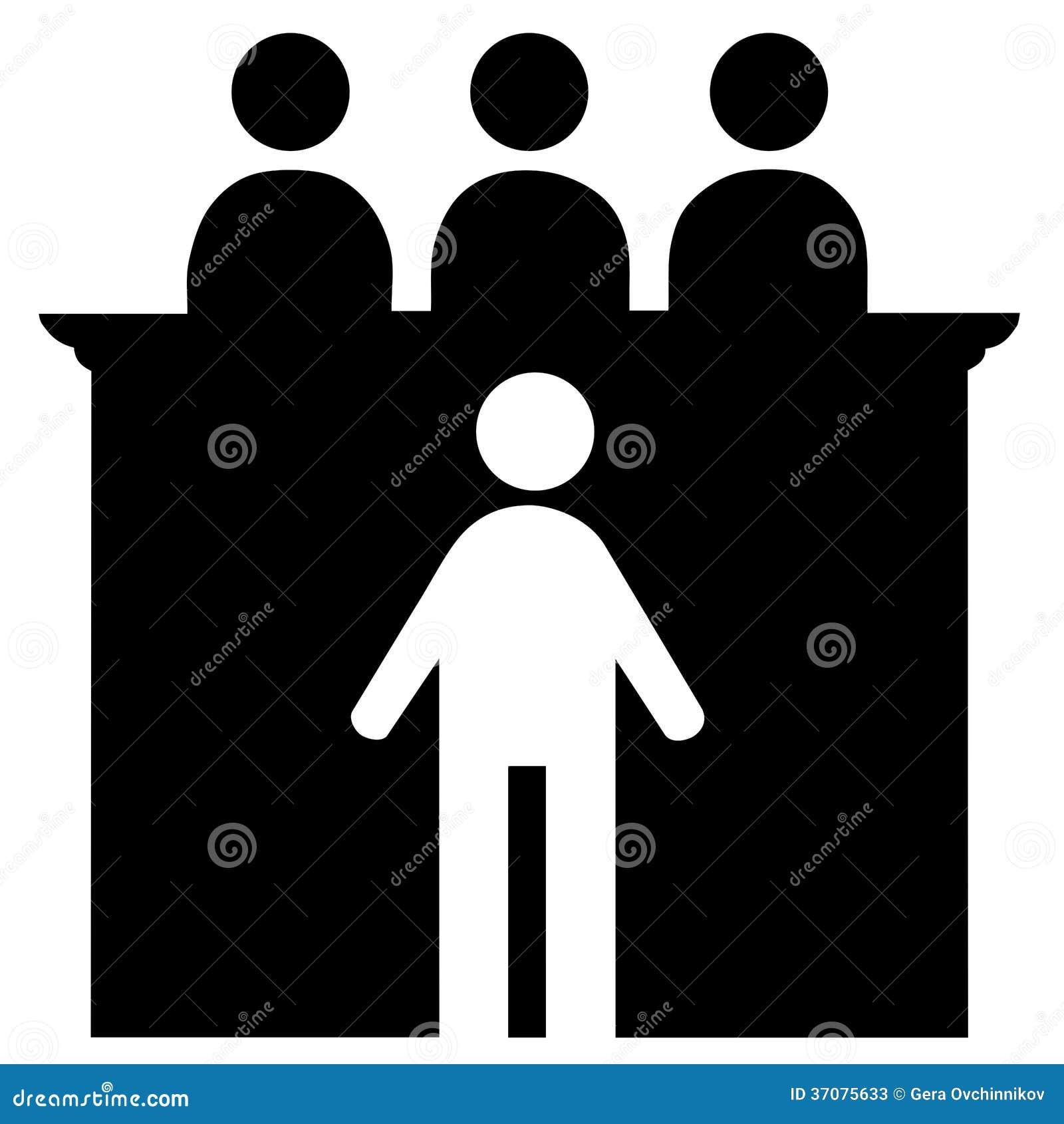 Download Mężczyzna i sędziowie ilustracji. Ilustracja złożonej z grupa - 37075633