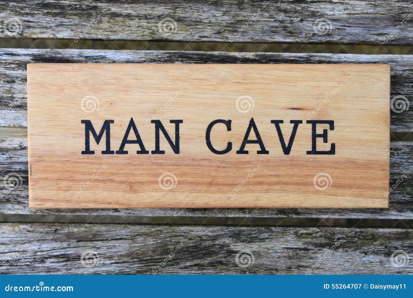 Mężczyzna jamy znak