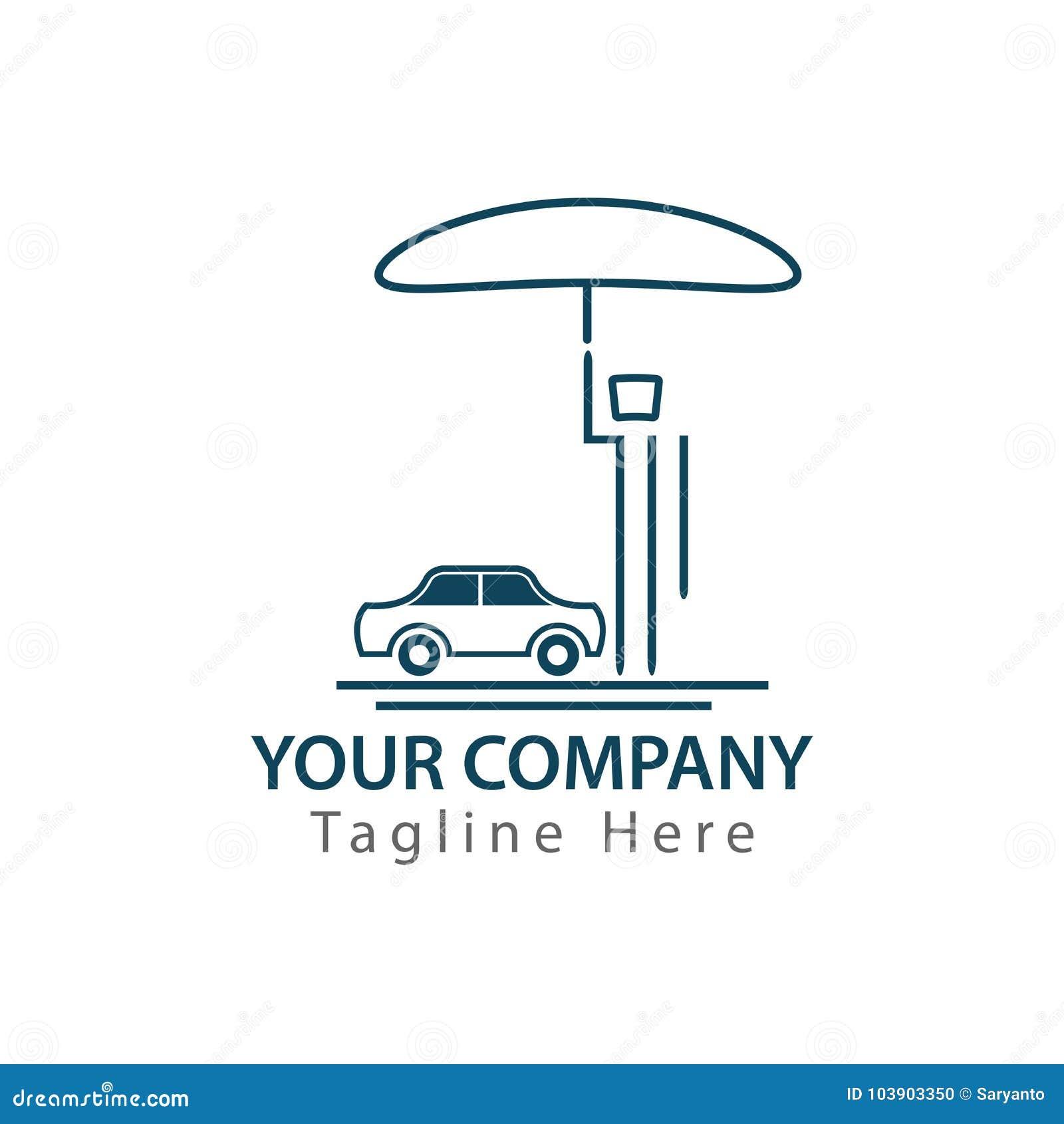 Mężczyzna ochrania jego samochód od huraganu z parasolem, pojęcie ubezpieczenie samochodu