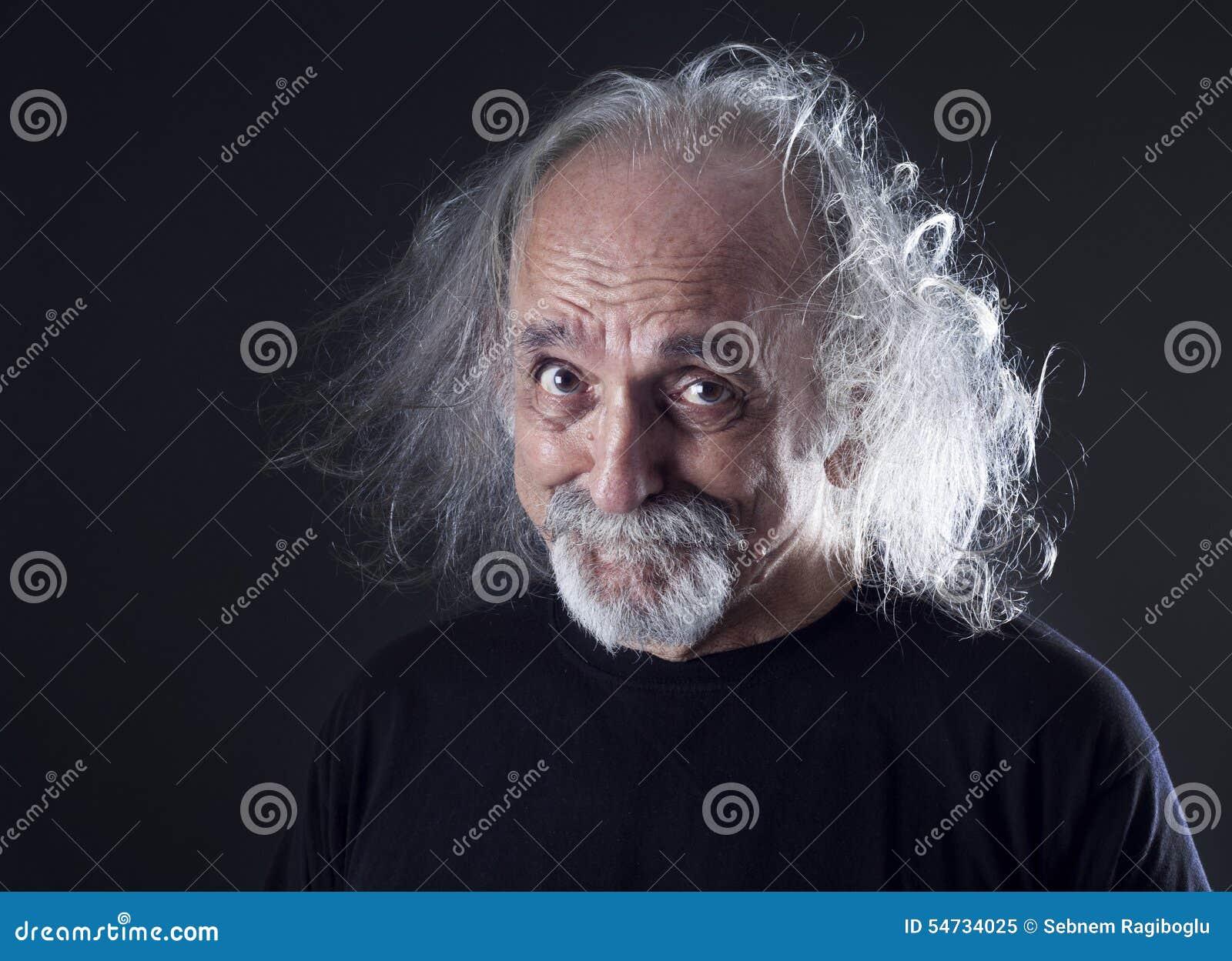 Mężczyzna portreta senior