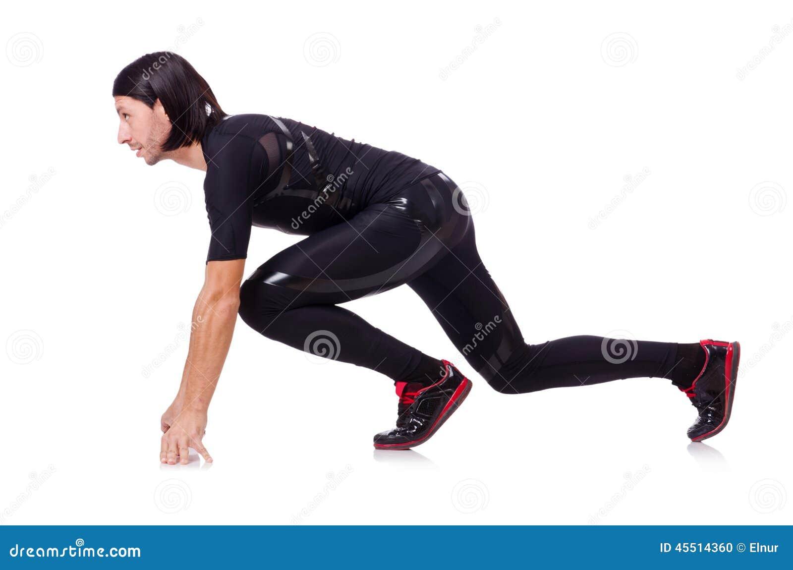 Mężczyzna robi ćwiczeniom odizolowywającym