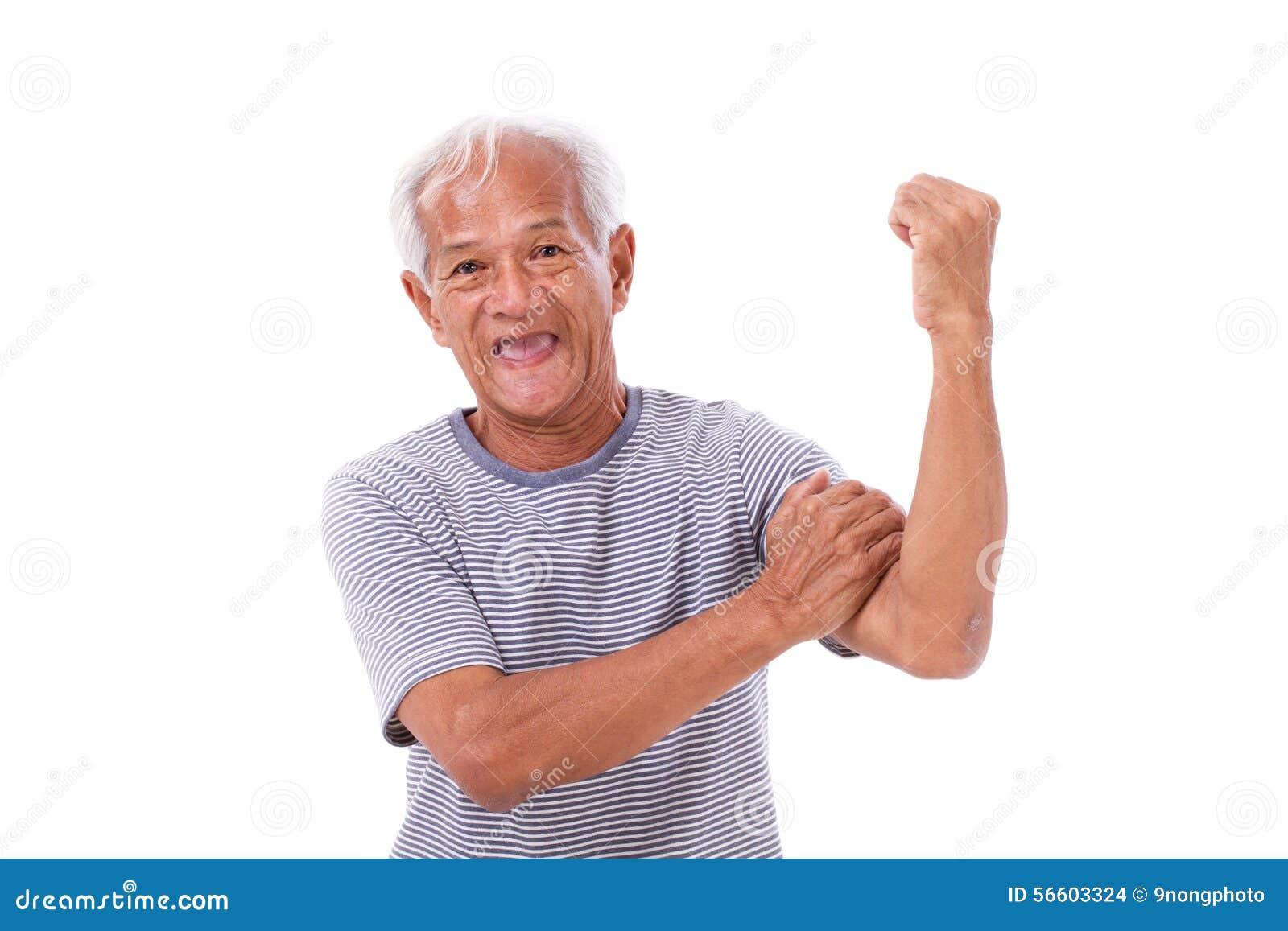 Mężczyzna silny stary