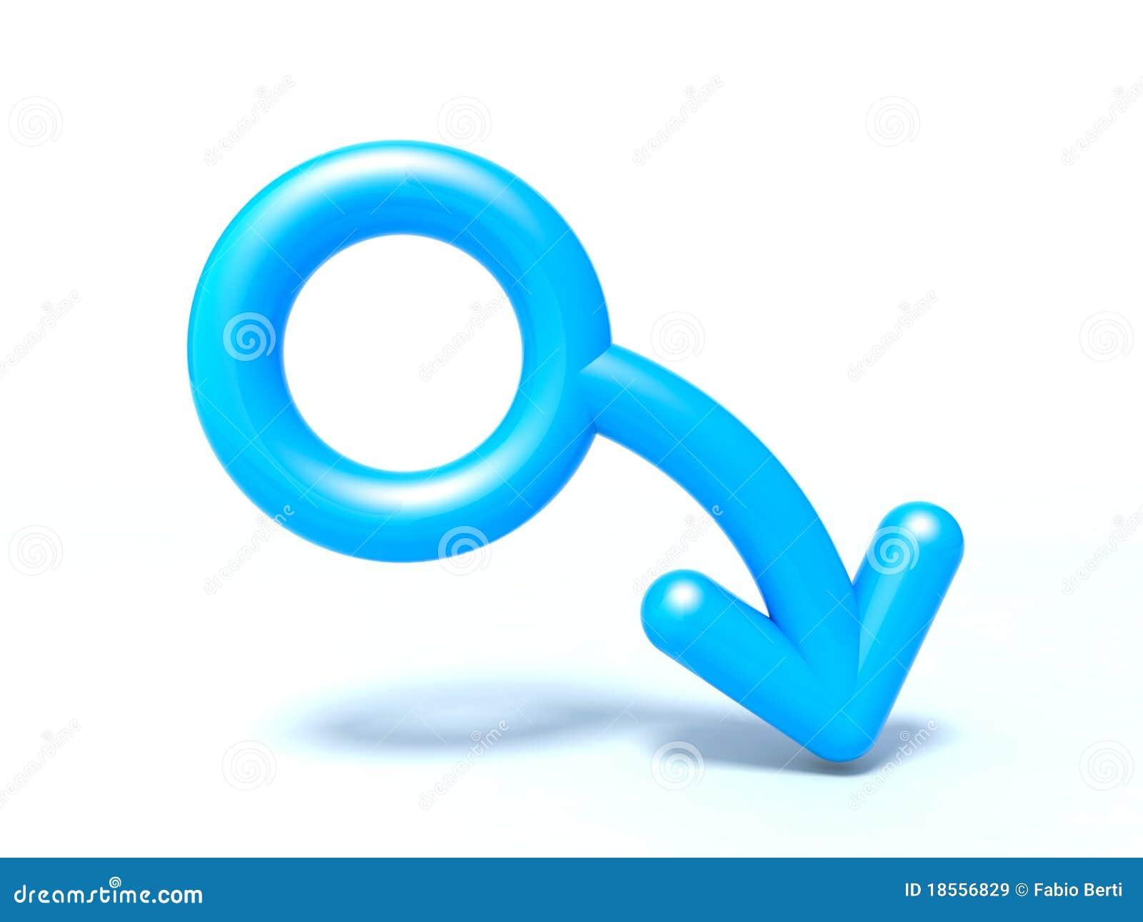 Mężczyzna symbol