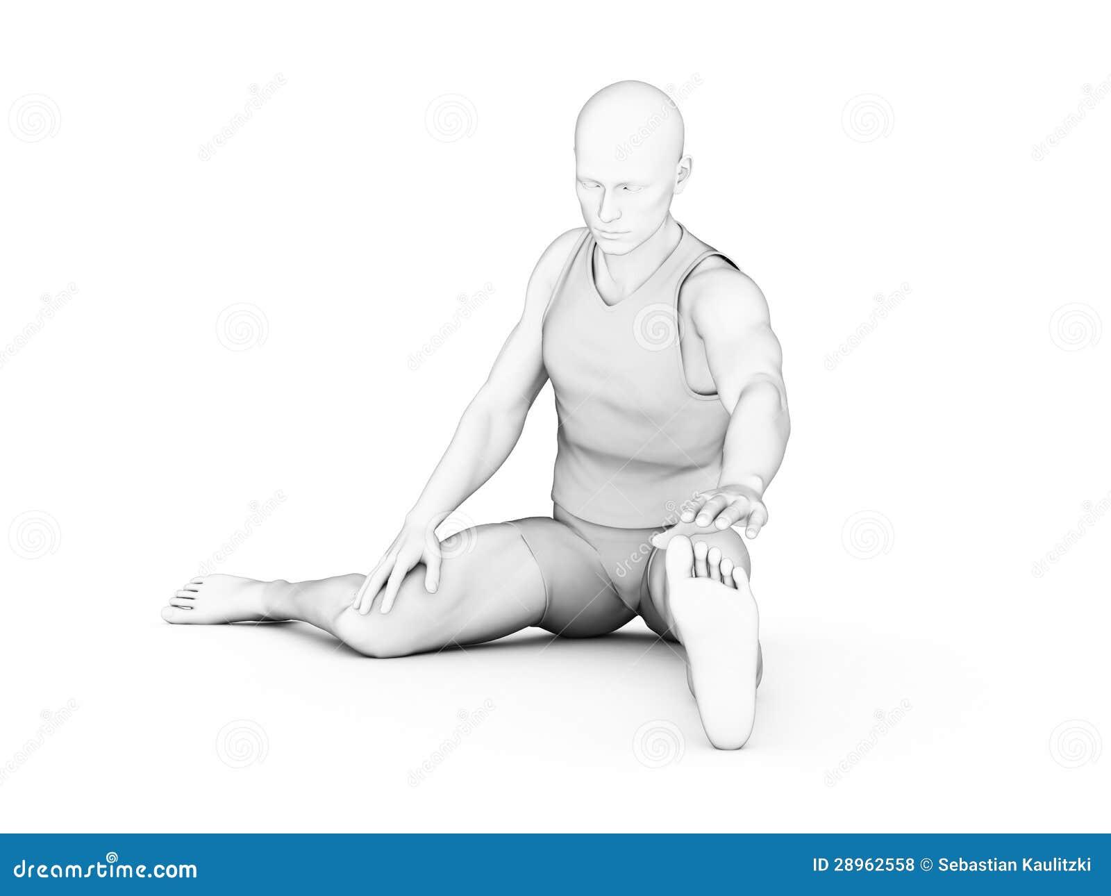 Mężczyzna - trening