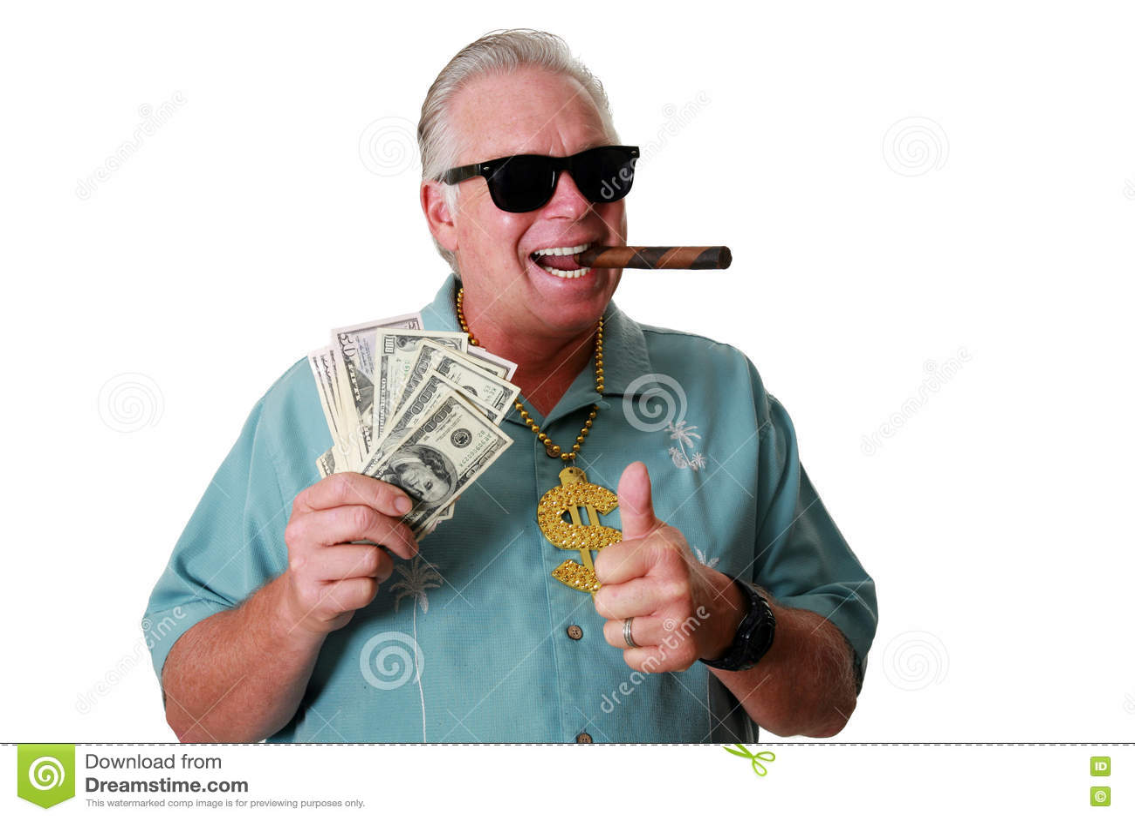 Mężczyzna z pieniądze Mężczyzna wygrywa pieniądze Mężczyzna pieniądze Mężczyzna Obwąchuje pieniądze Mężczyzna Kocha pieniądze Męż