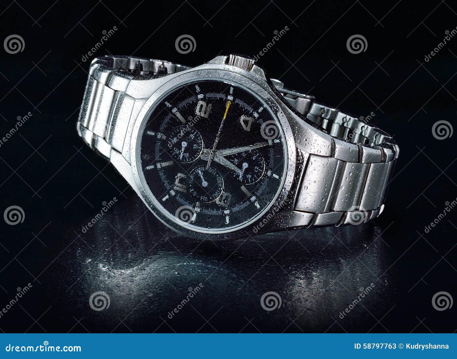 Mężczyzna zegarek