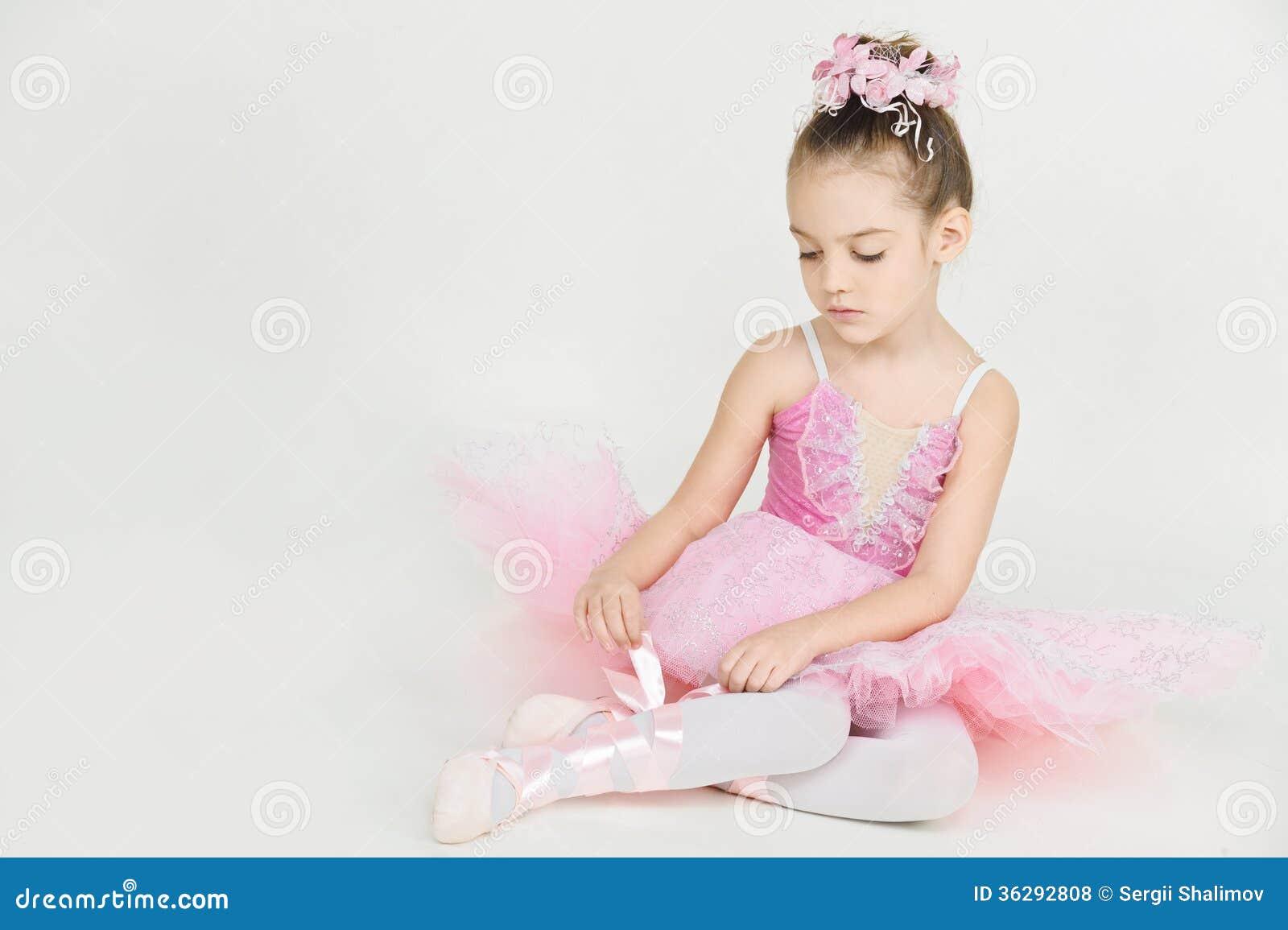Młoda balerina