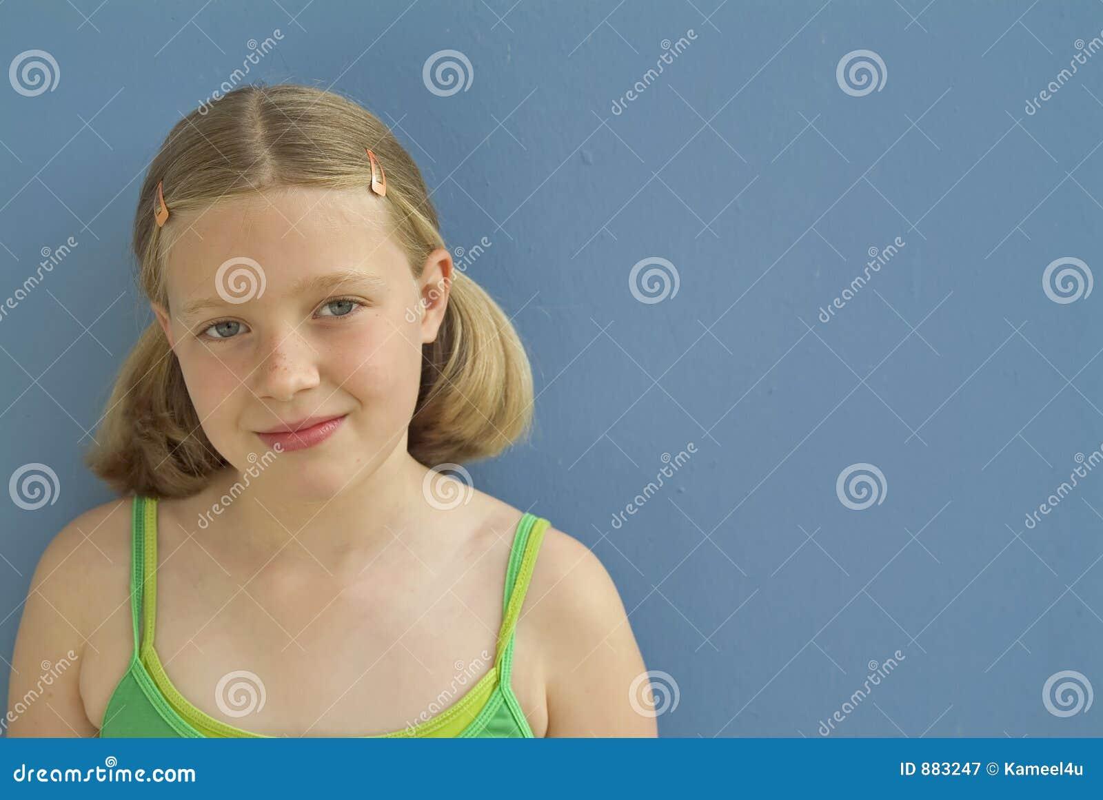 Młoda dziewczyna portret