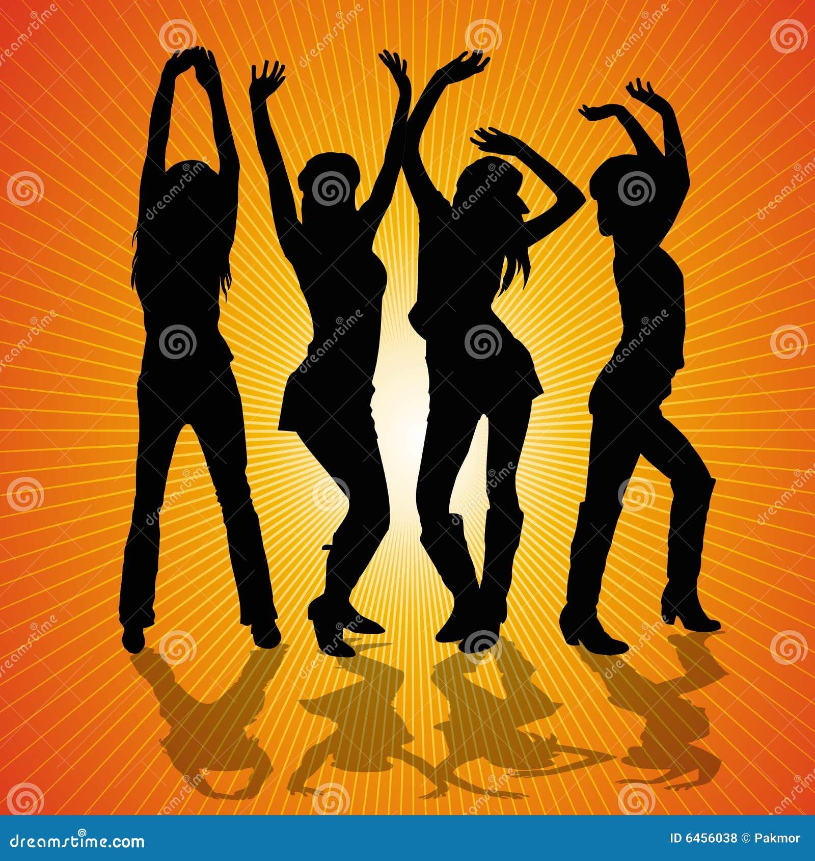 Młoda Kobieta Taniec