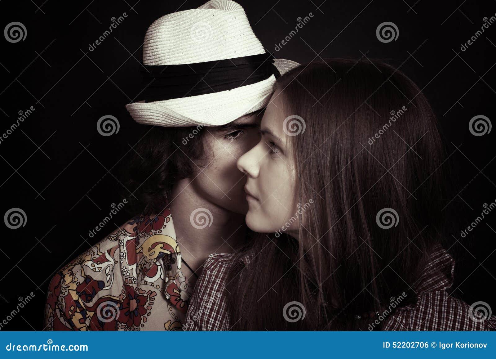 Młoda miłość pary