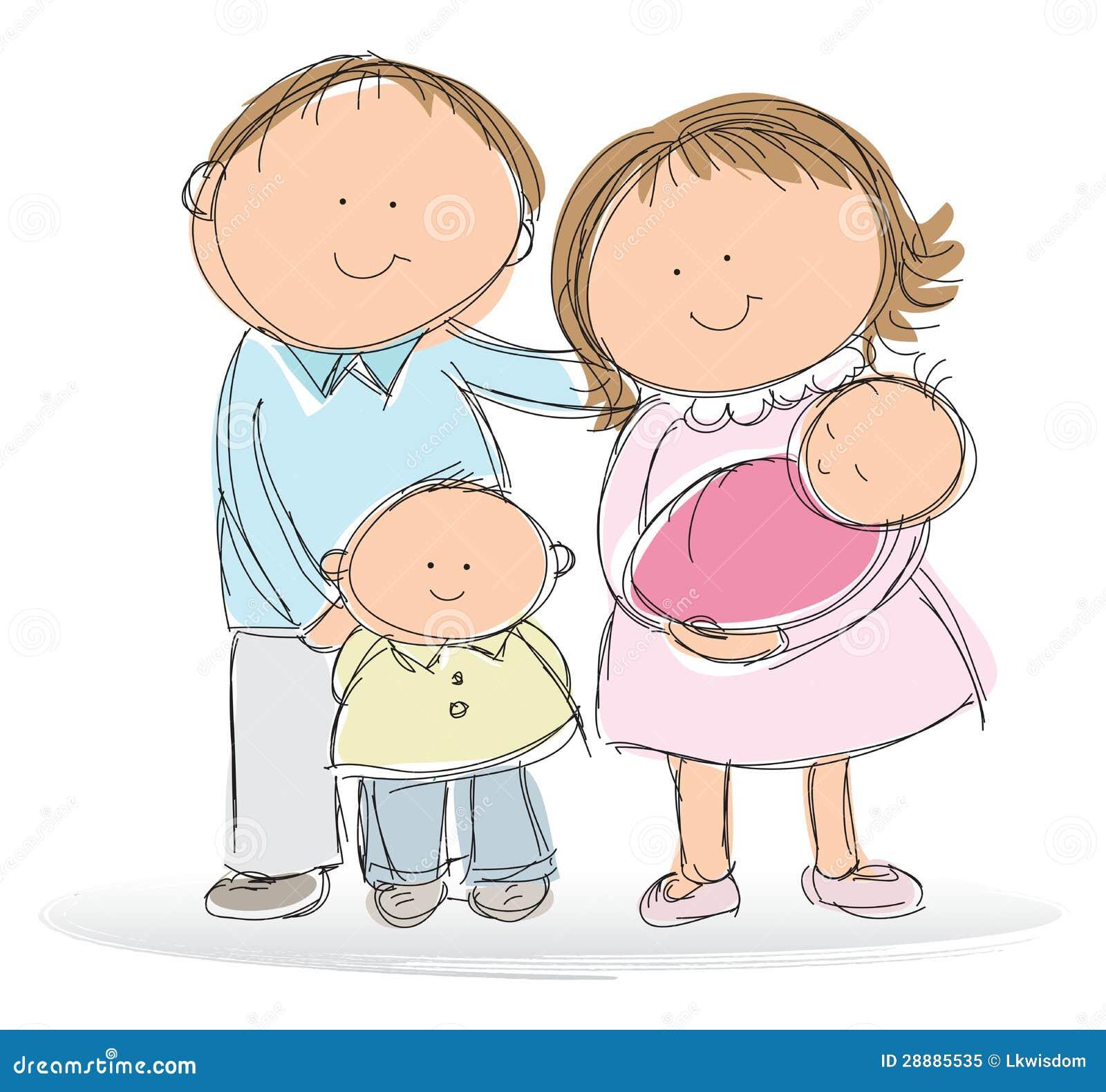 Młoda rodzina