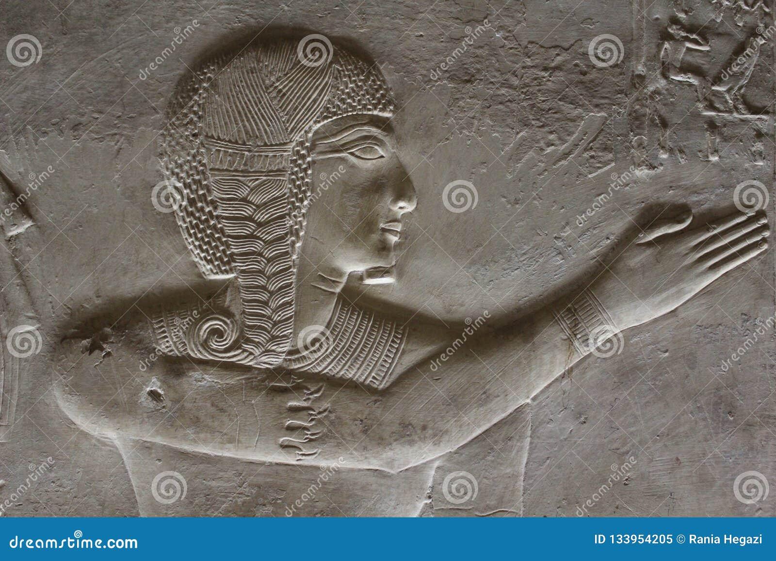 Młody Pharaoh Egipt