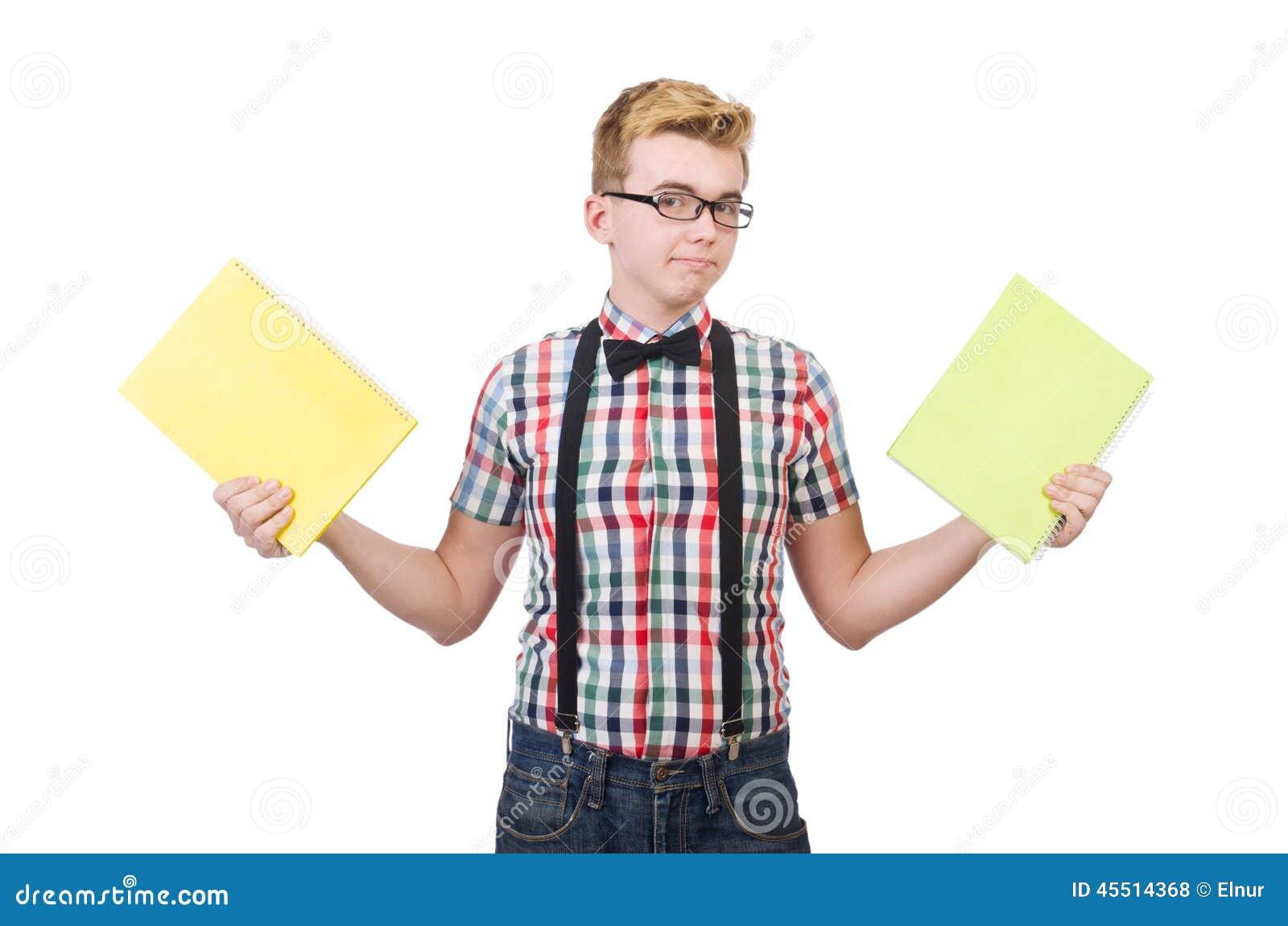 Młody uczeń odizolowywający