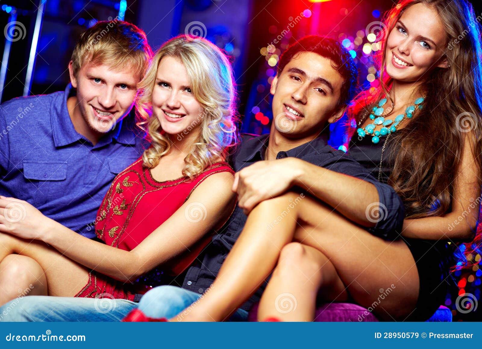 Młodzi clubbers