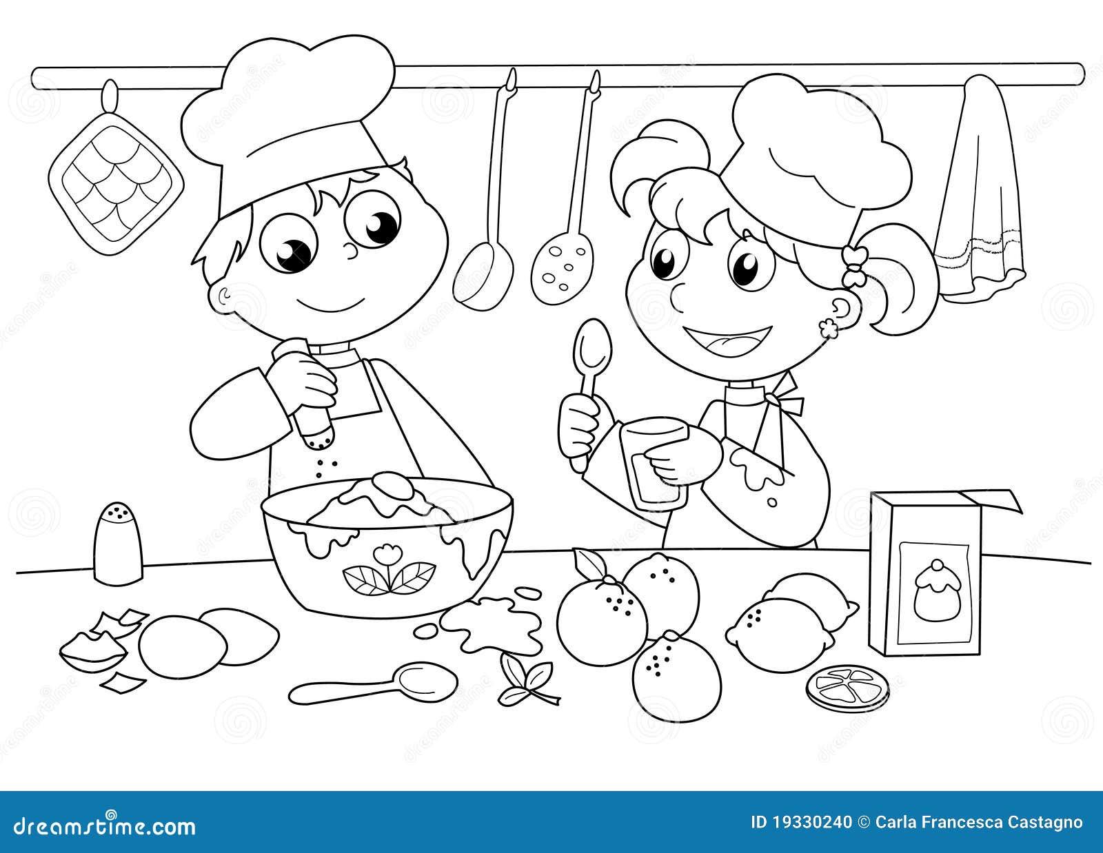 Młodzi kulinarni dzieciaki