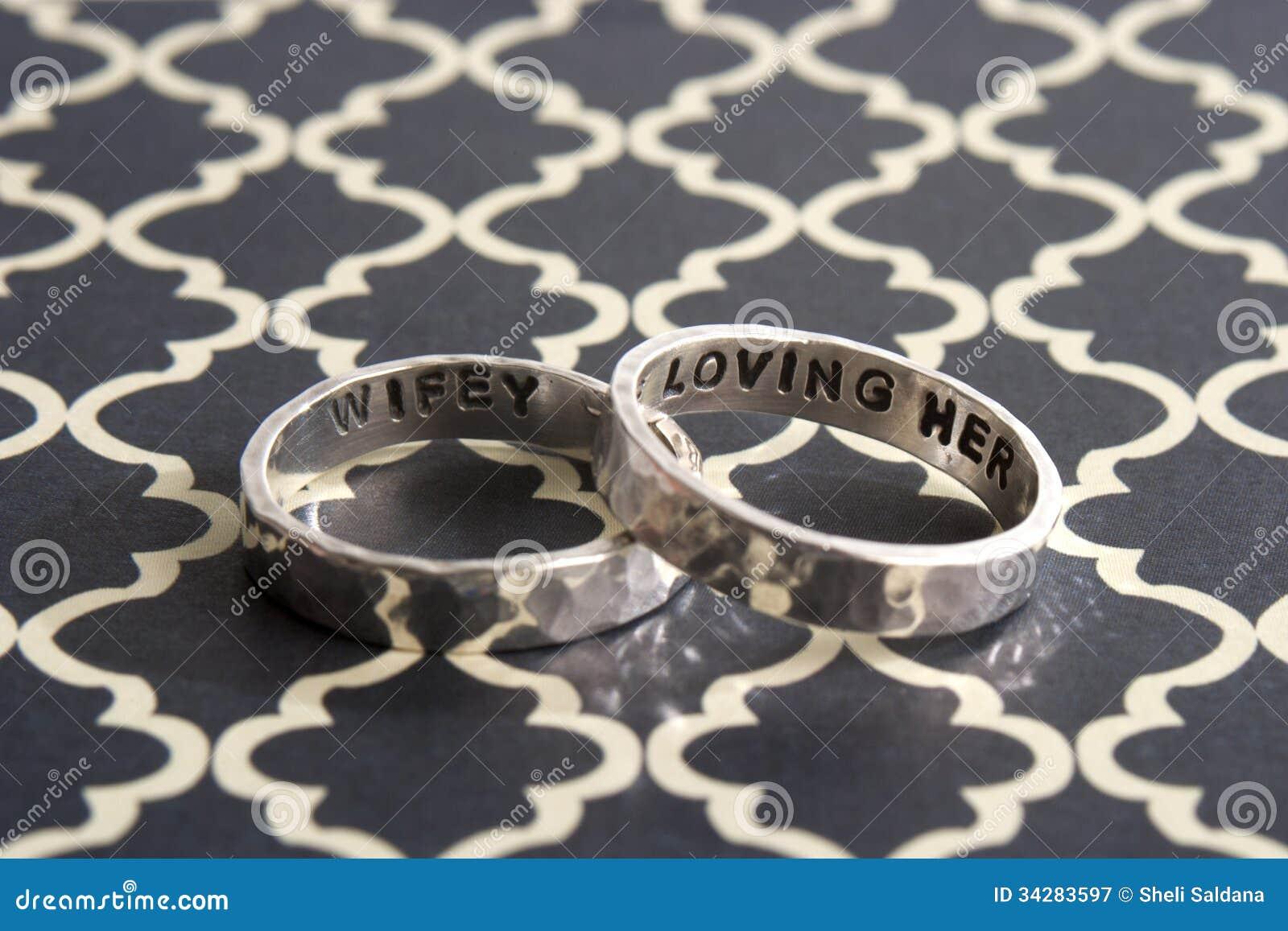 Młotkujący pierścionki na Czarnym projekta tle
