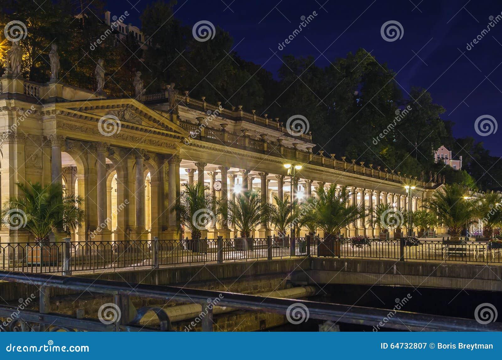 Młyńska kolumnada, Karlovy Zmienia
