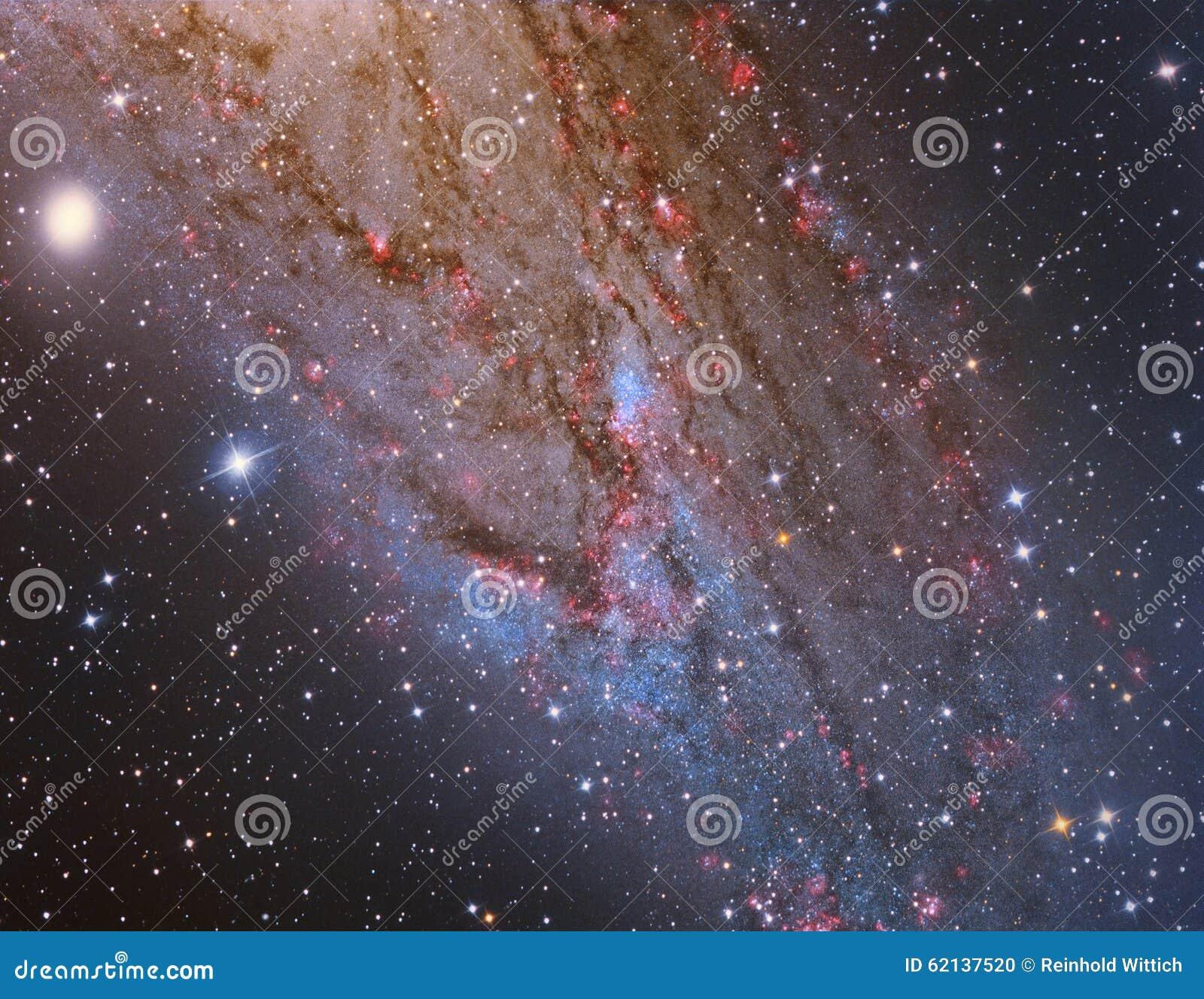 M31 Andromeda Galaxy Closeup