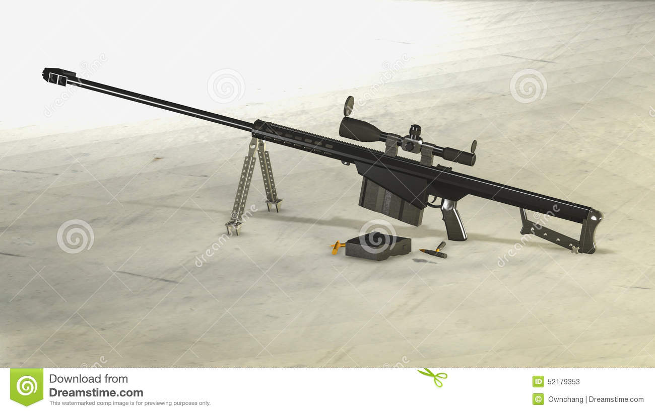 m107 sniper rifle - photo #32