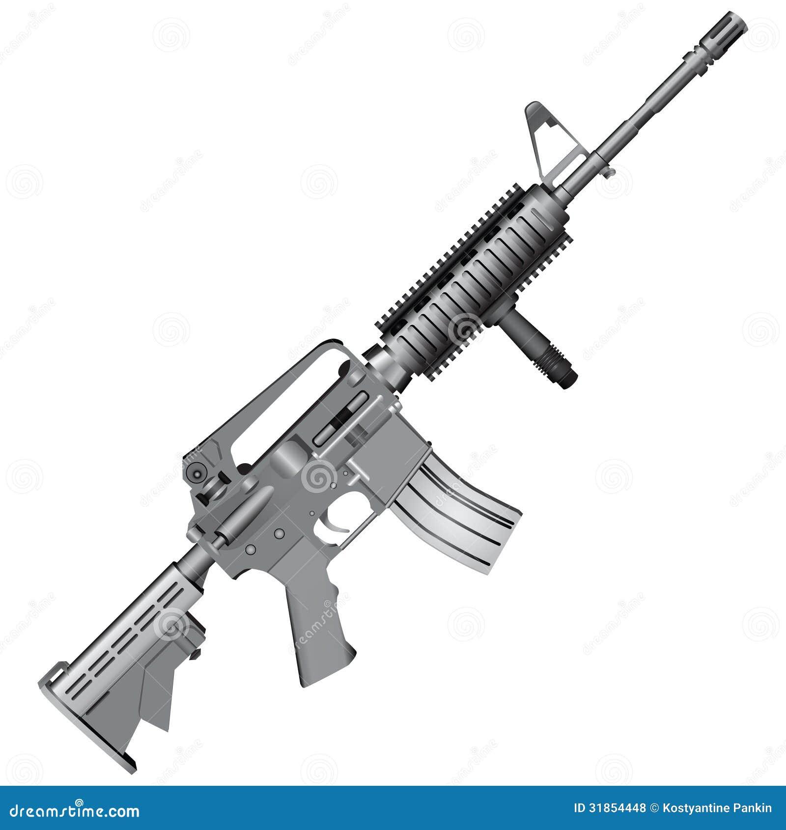 m4 Carbine Vectored by ManicWolf on DeviantArt