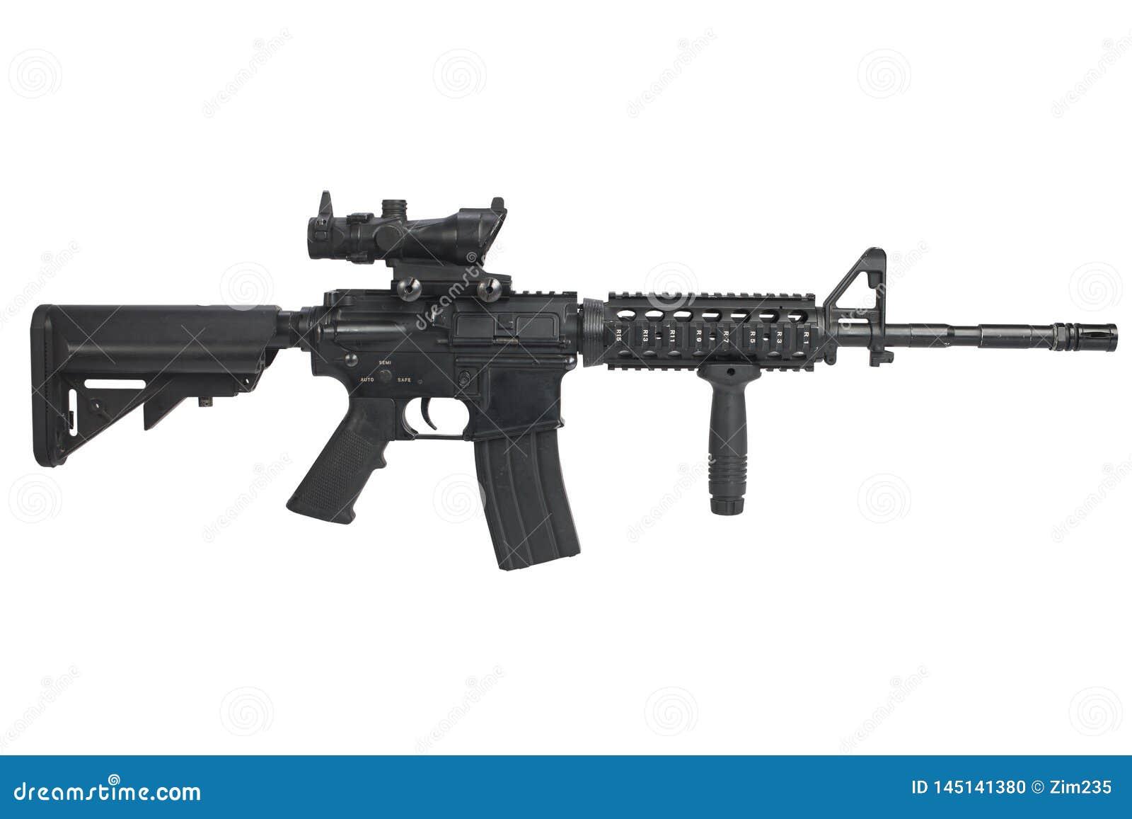 M4攻击步枪隔绝了